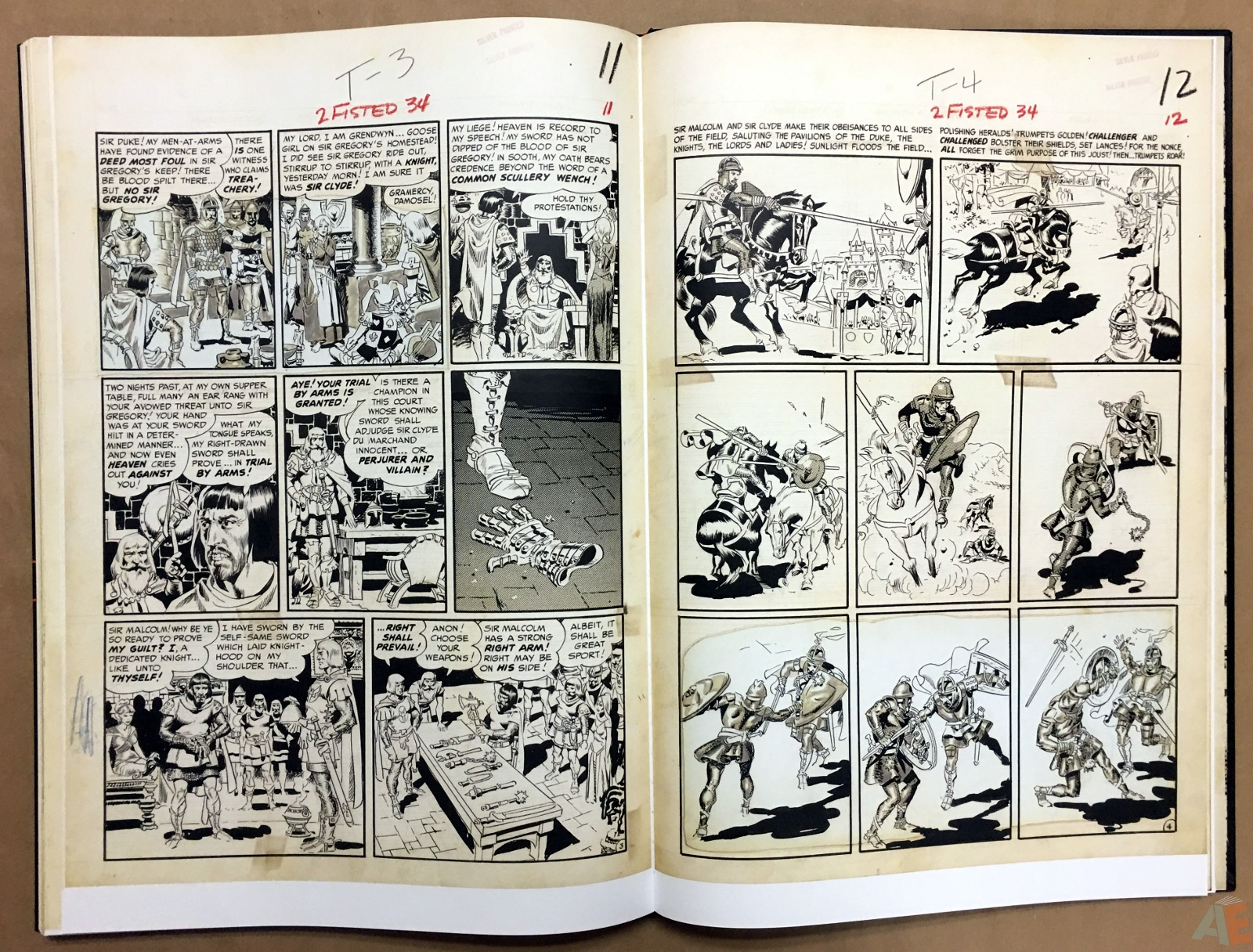 Wally Wood's EC Stories Artist's Edition 34