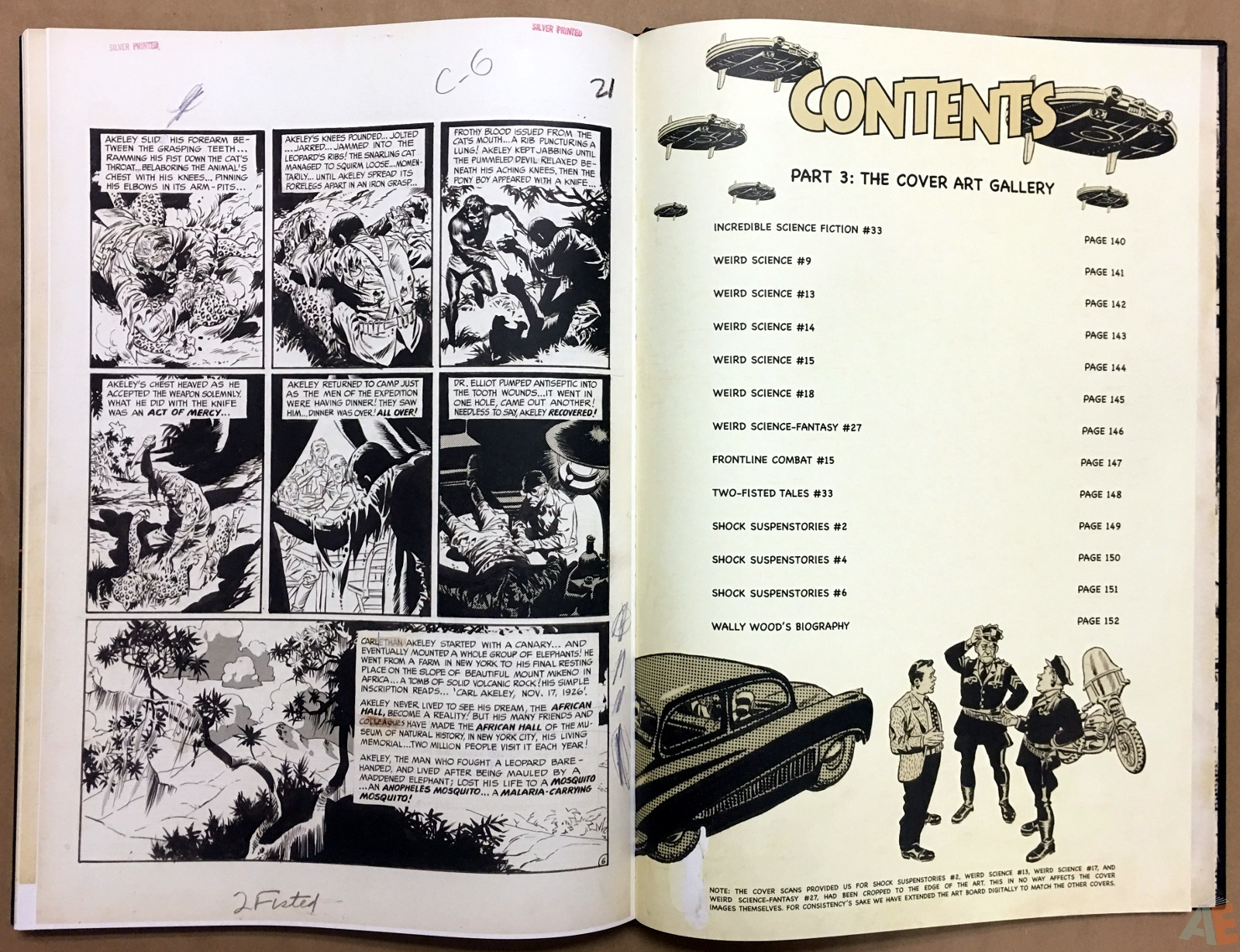 Wally Wood's EC Stories Artist's Edition 38