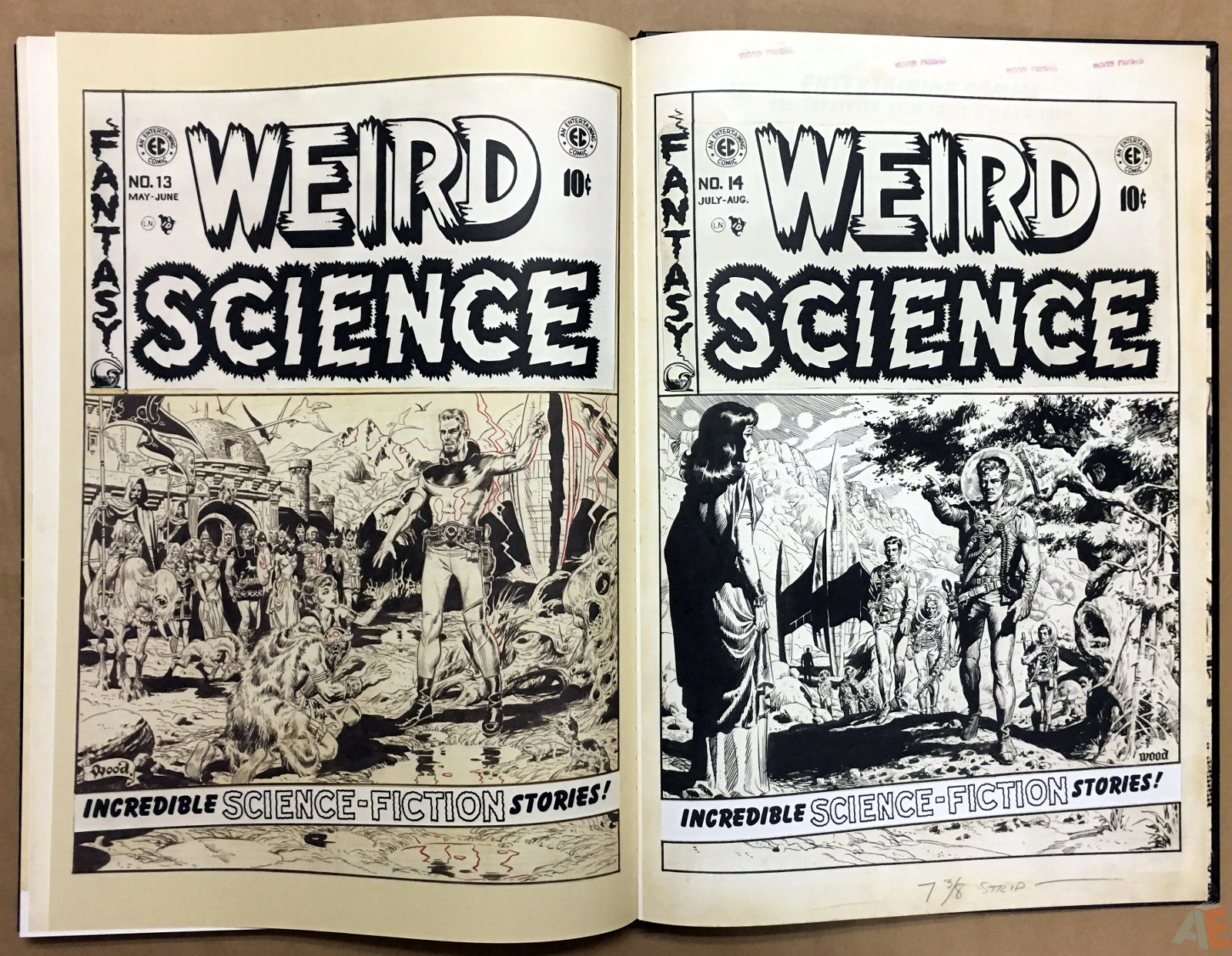 Wally Wood's EC Stories Artist's Edition 40
