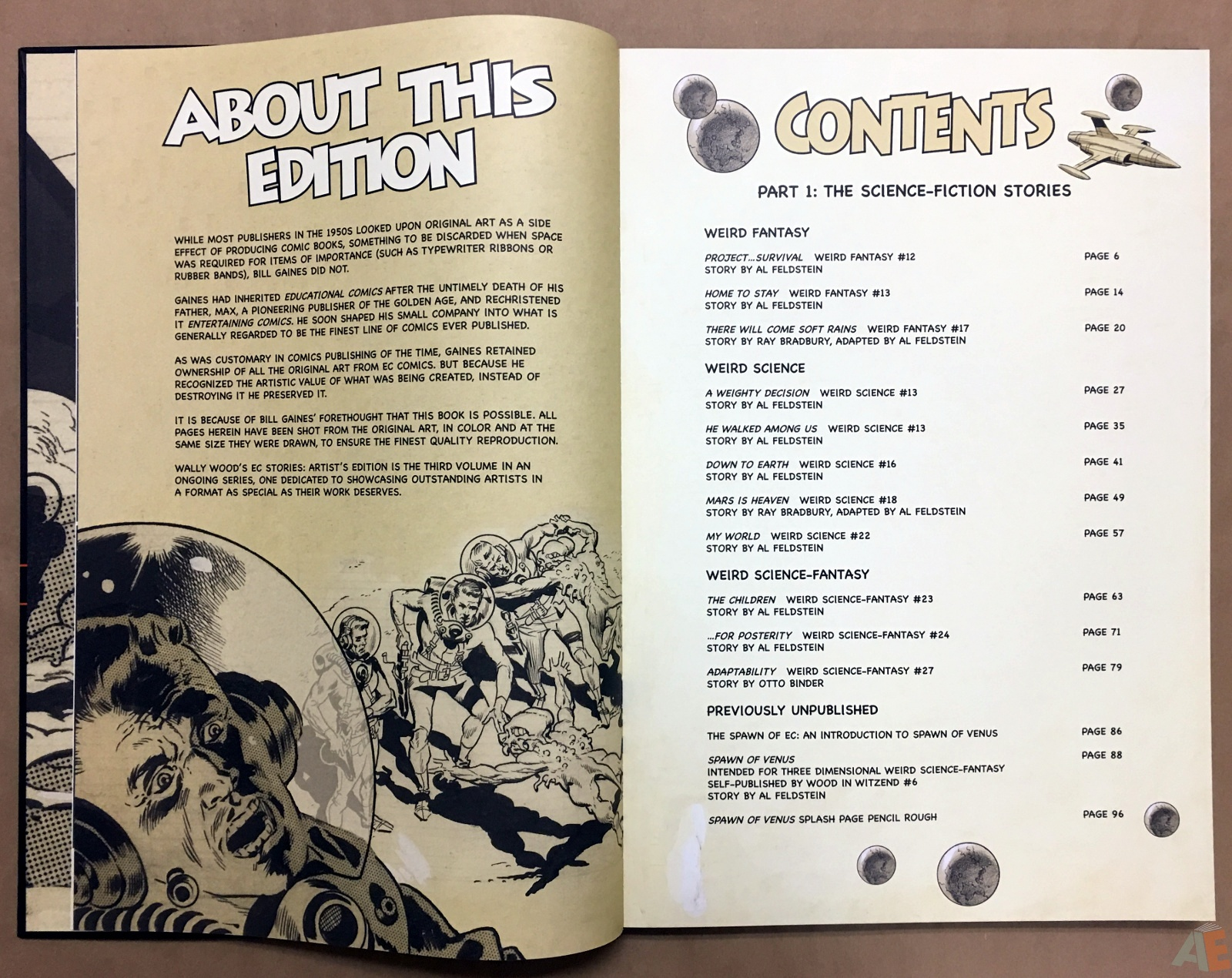 Wally Wood's EC Stories Artist's Edition 6
