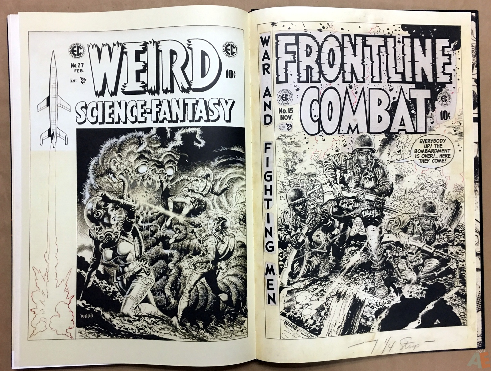 Wally Wood's EC Stories Artist's Edition 42