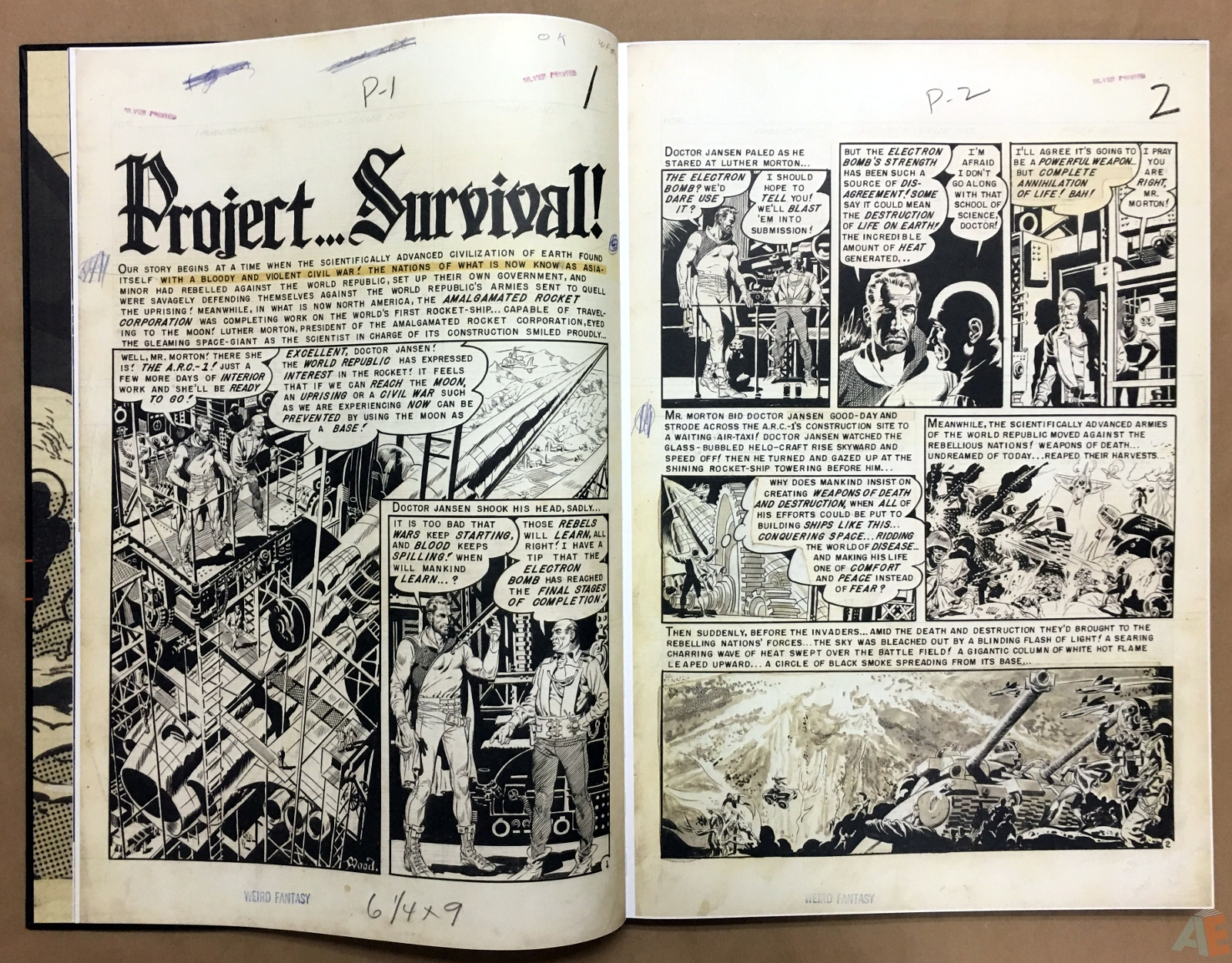 Wally Wood's EC Stories Artist's Edition 8