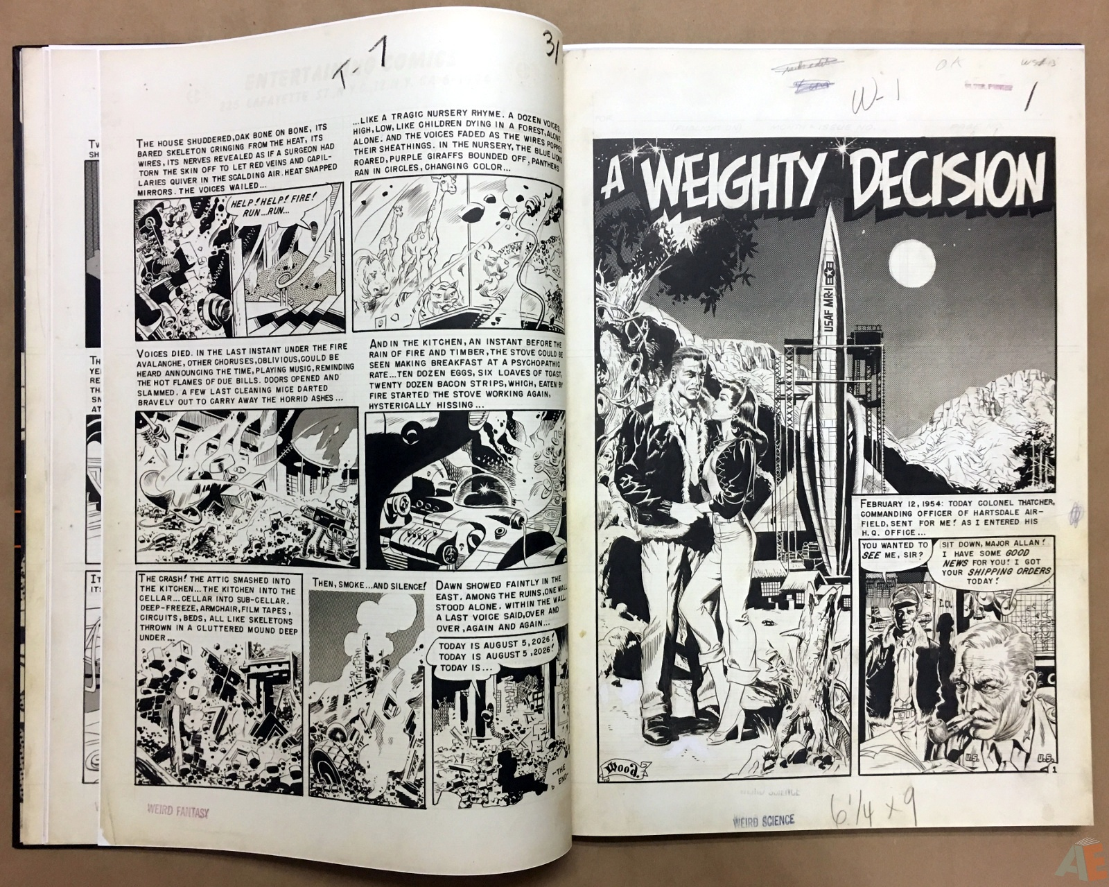 Wally Wood's EC Stories Artist's Edition 12