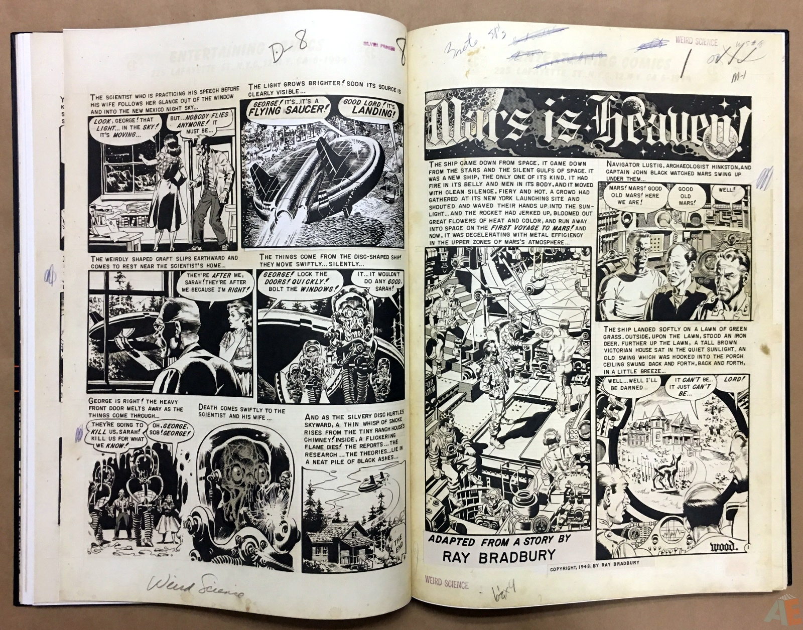 Wally Wood's EC Stories Artist's Edition 16