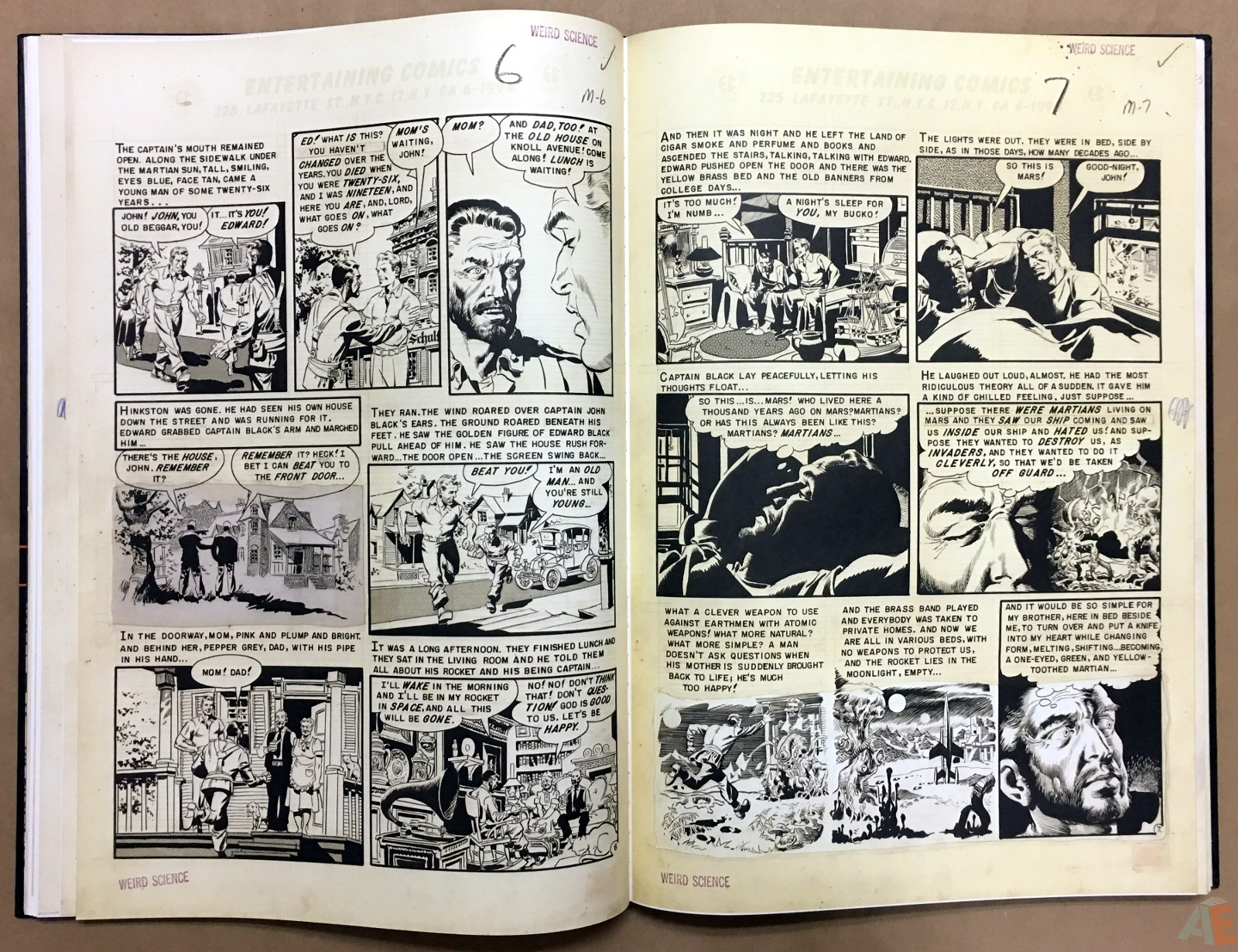 Wally Wood's EC Stories Artist's Edition 18