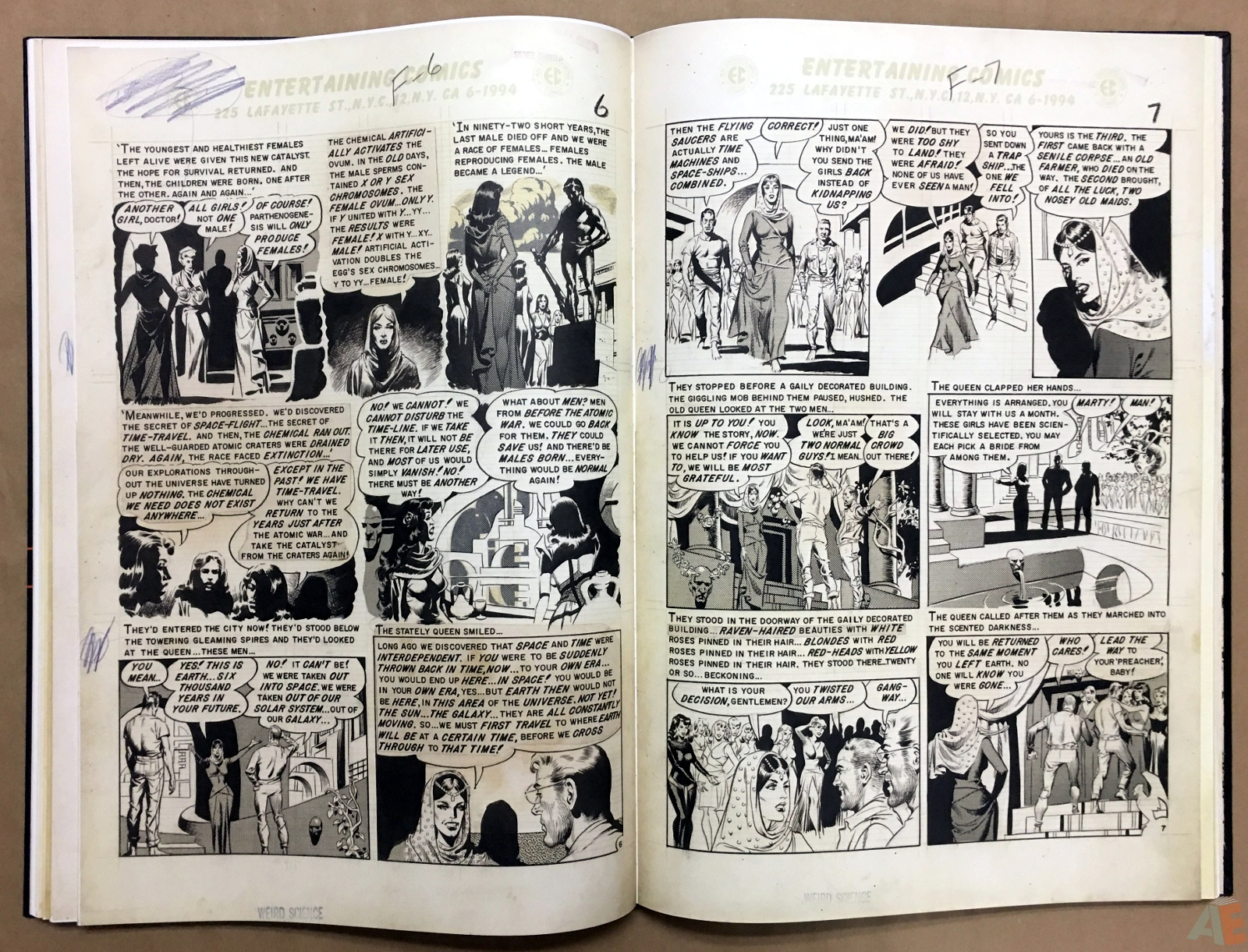 Wally Wood's EC Stories Artist's Edition 20