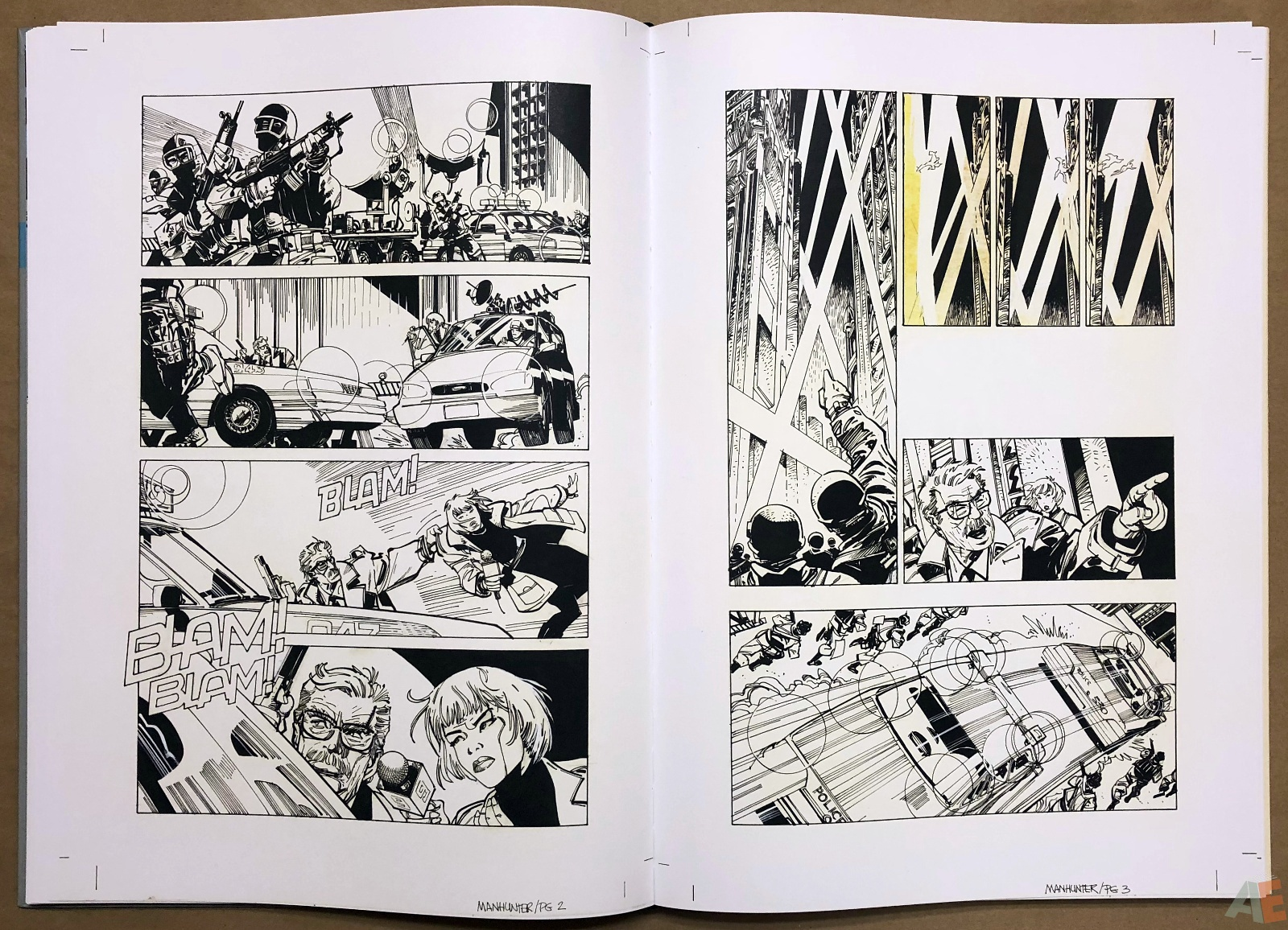 Walter Simonson Manhunter and Other Stories Artist's Edition 22