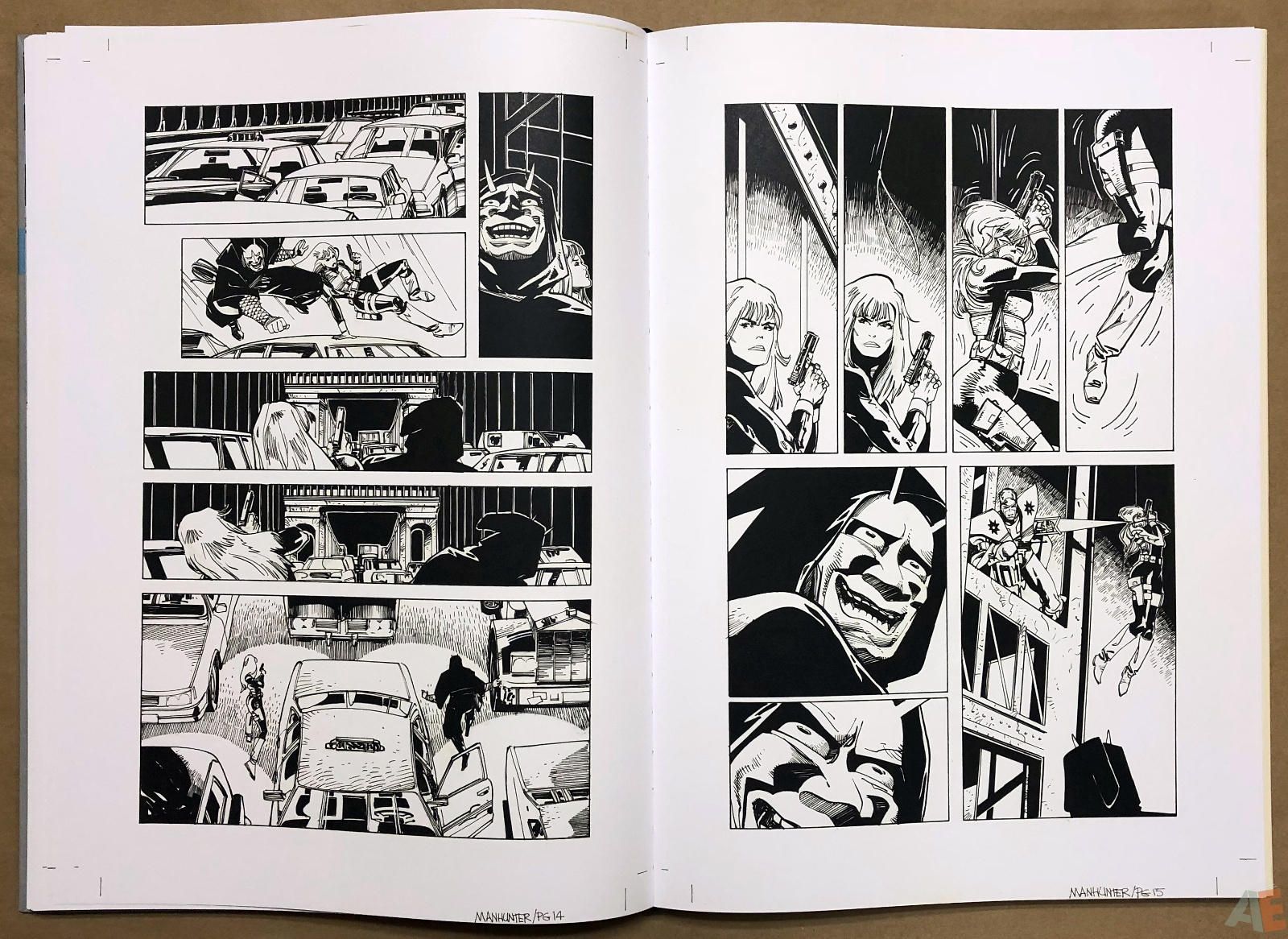 Walter Simonson Manhunter and Other Stories Artist's Edition 24
