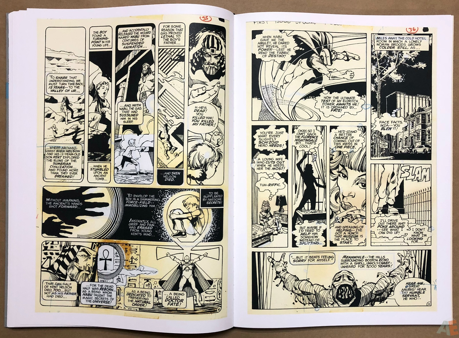 Walter Simonson Manhunter and Other Stories Artist's Edition 30