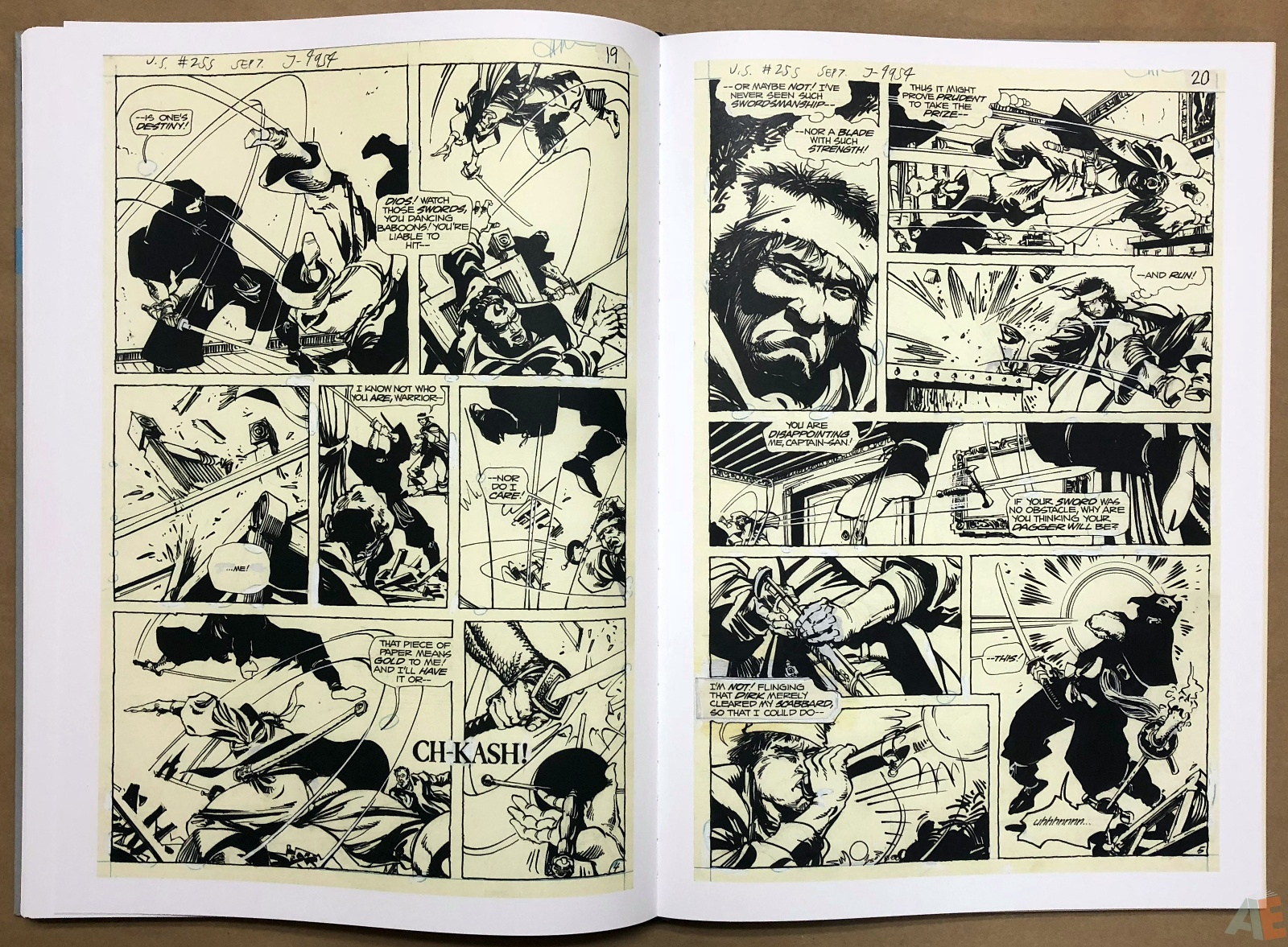 Walter Simonson Manhunter and Other Stories Artist's Edition 34
