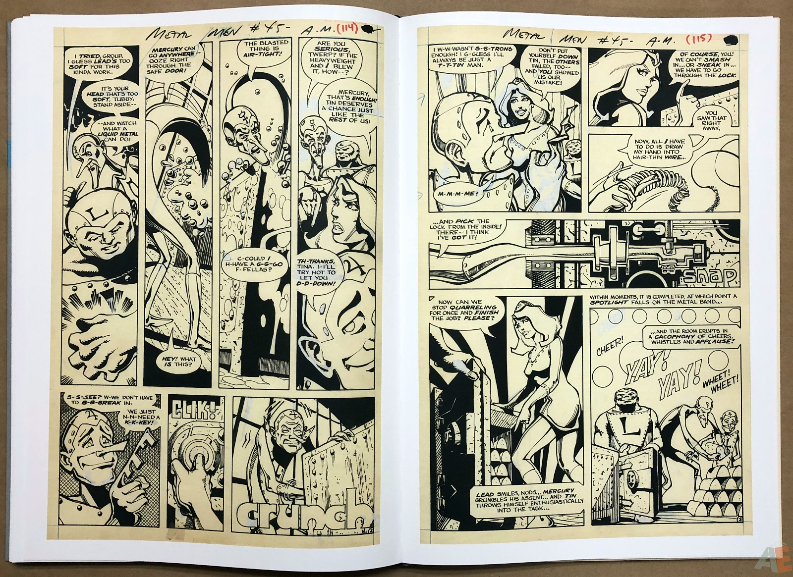 Walter Simonson Manhunter and Other Stories Artist's Edition 36