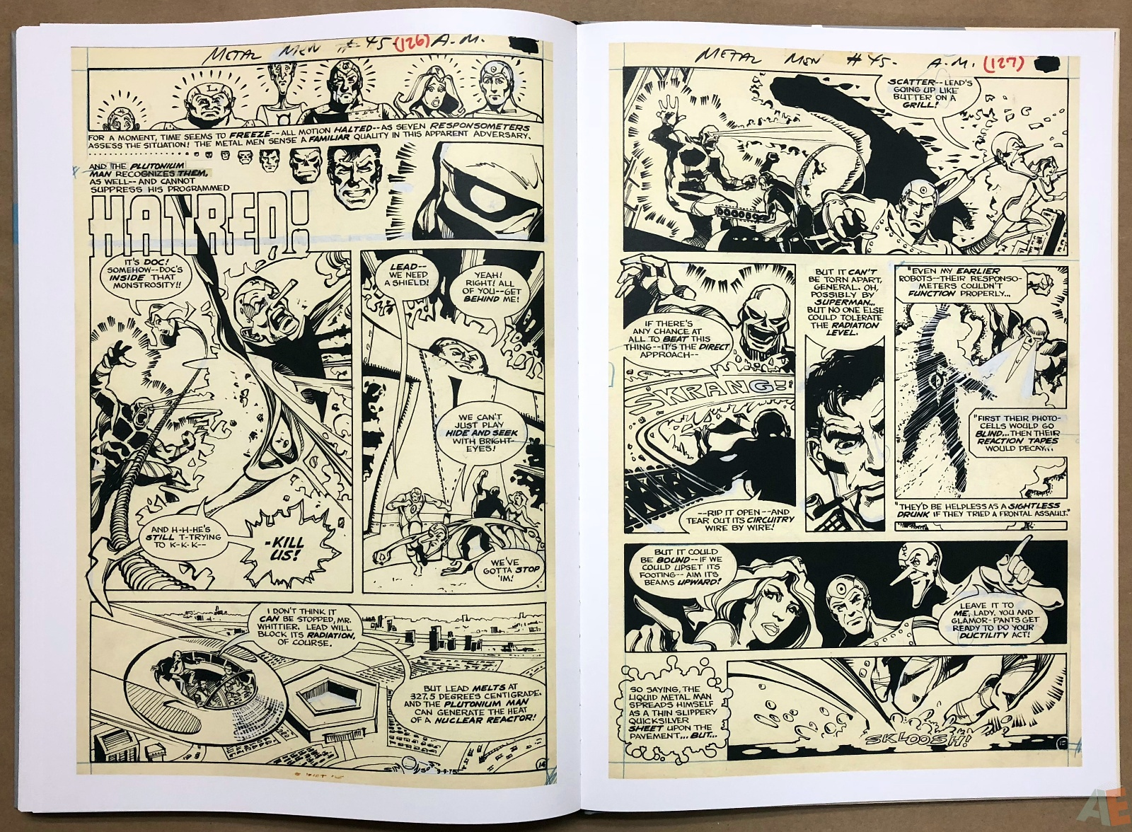 Walter Simonson Manhunter and Other Stories Artist's Edition 38
