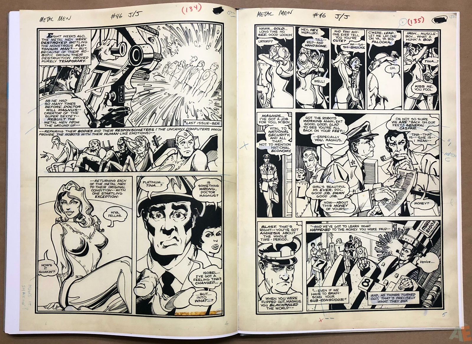 Walter Simonson Manhunter and Other Stories Artist's Edition 40
