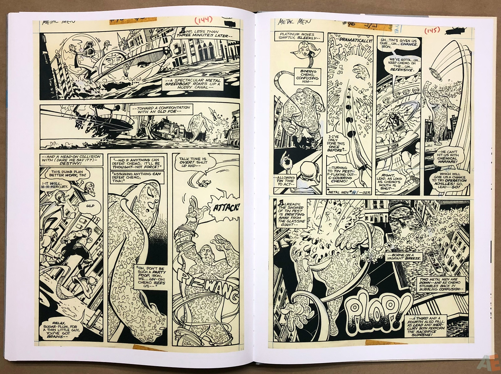 Walter Simonson Manhunter and Other Stories Artist's Edition 42