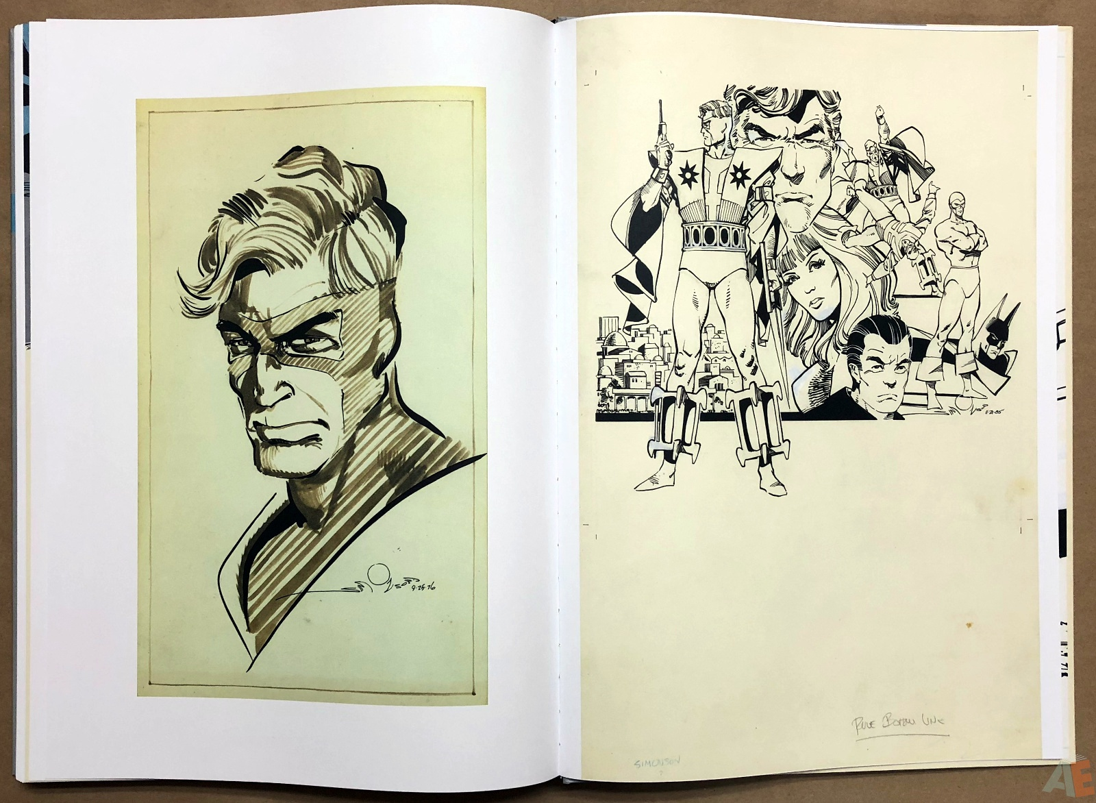 Walter Simonson Manhunter and Other Stories Artist's Edition 48