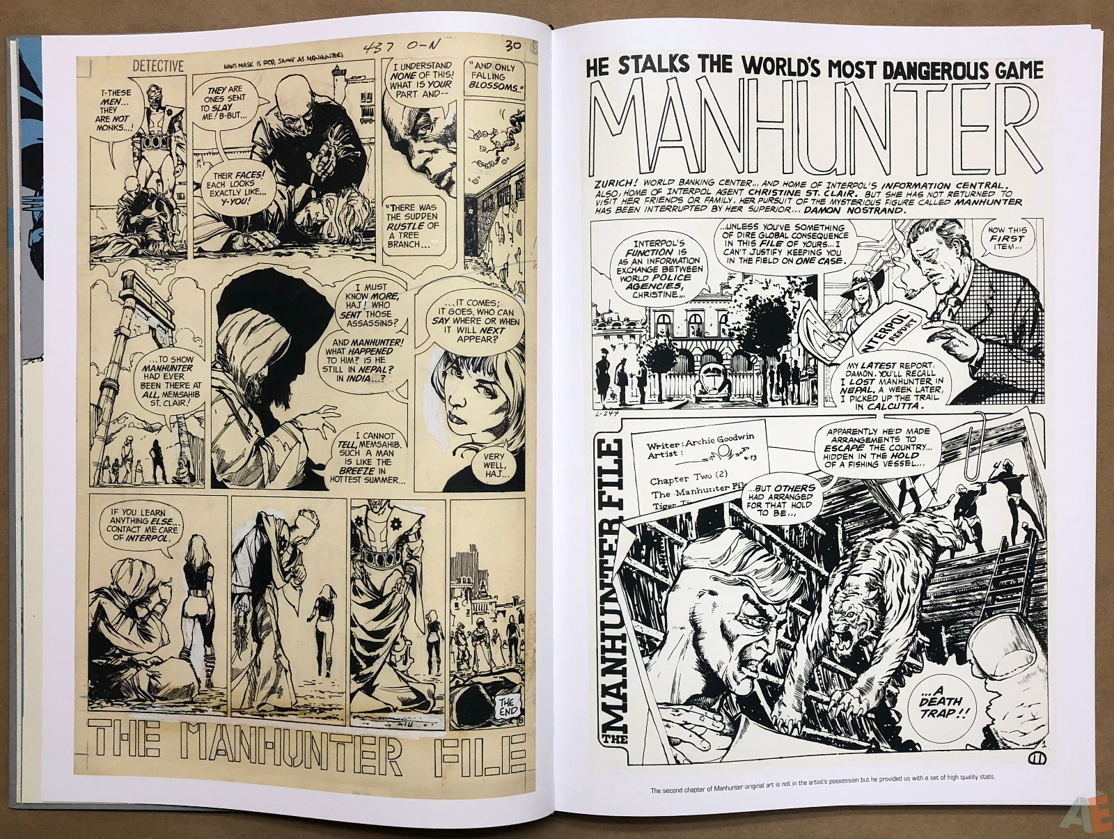 Walter Simonson Manhunter and Other Stories Artist's Edition 10