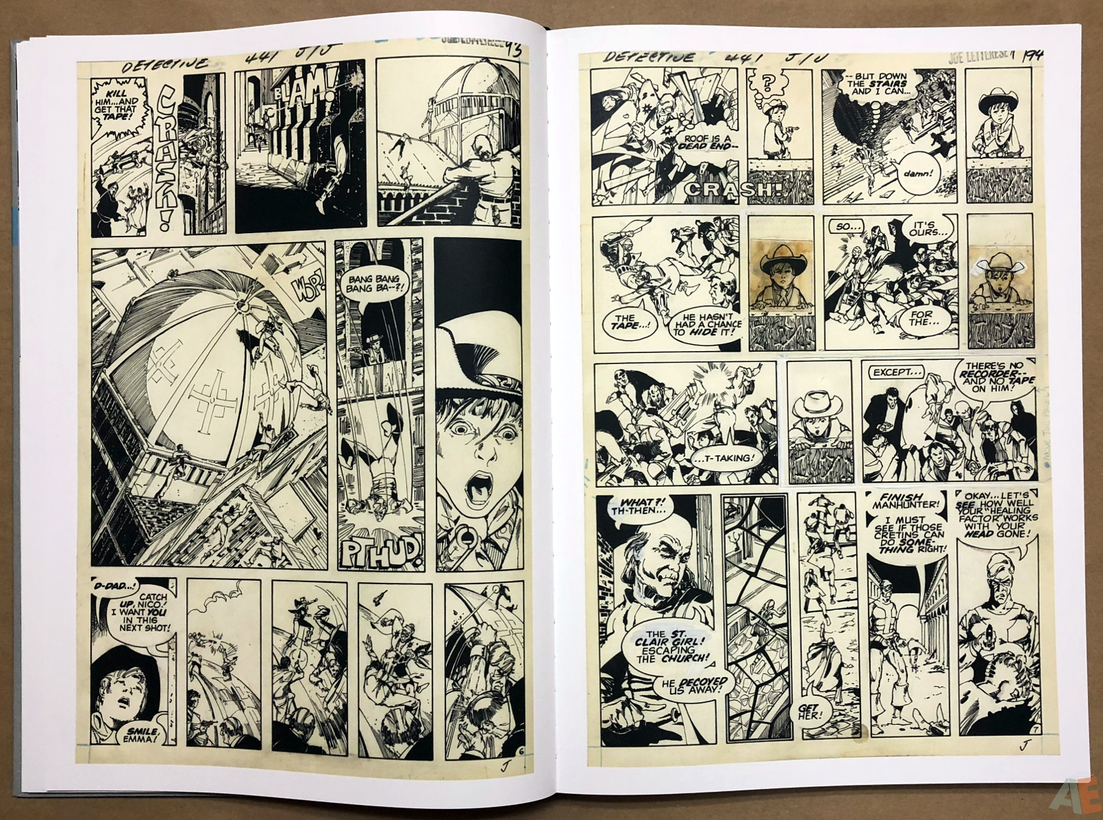 Walter Simonson Manhunter and Other Stories Artist's Edition 14