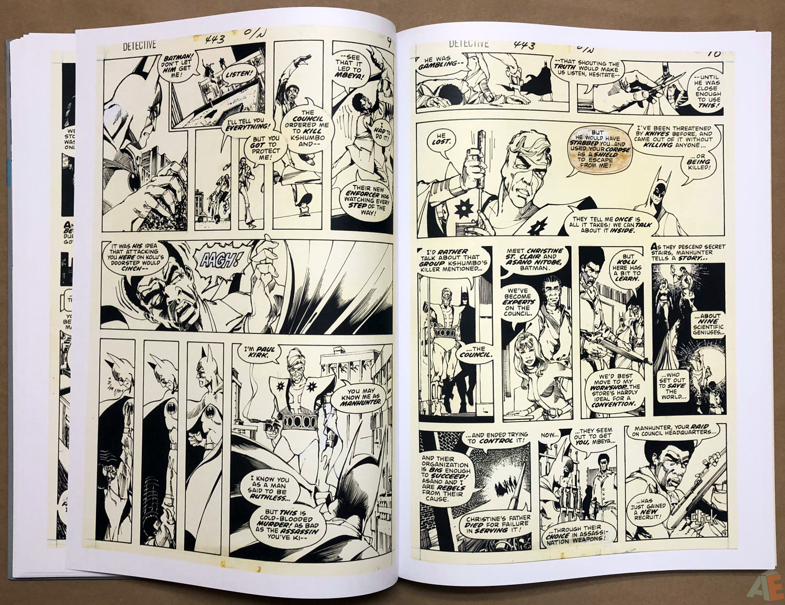 Walter Simonson Manhunter and Other Stories Artist's Edition 18