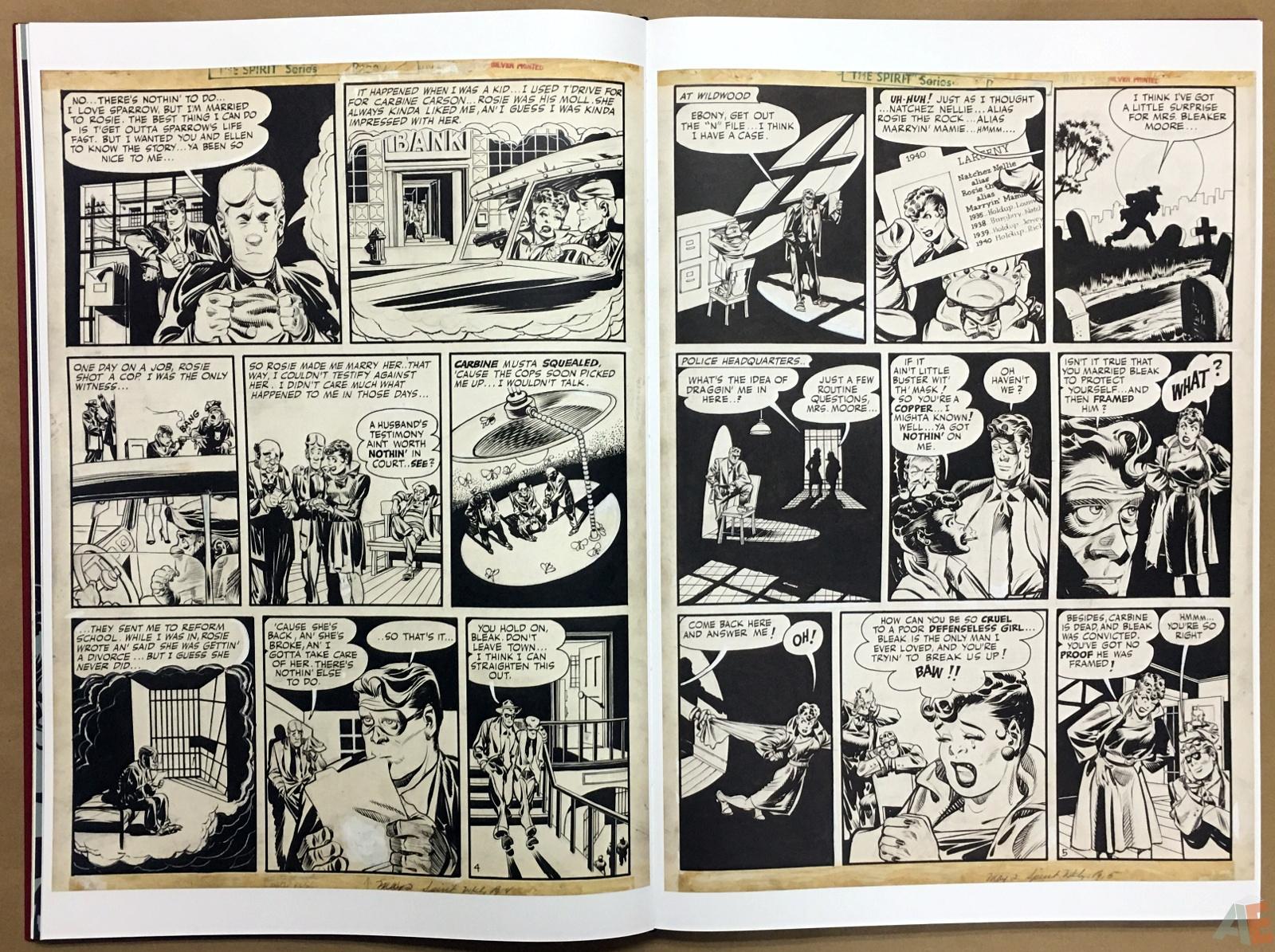 Will Eisner's The Spirit Artist's Edition Volume Two