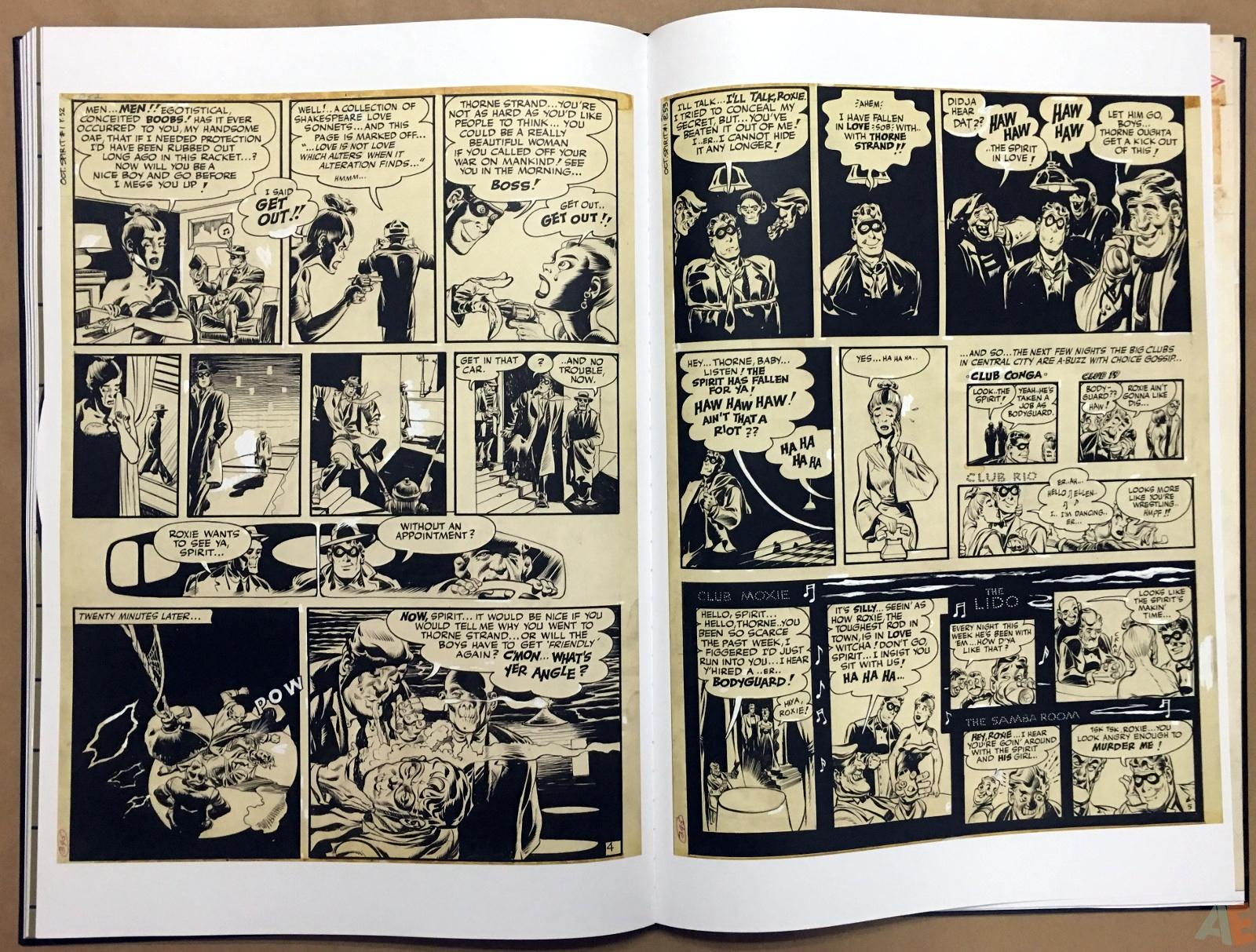 Will Eisner's The Spirit Artist's Edition