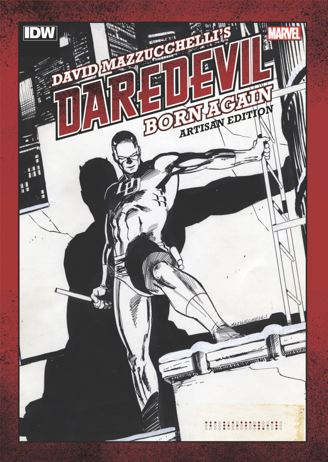 Out today: David Mazzucchelli's Daredevil: Born Again Artisan Edition 1