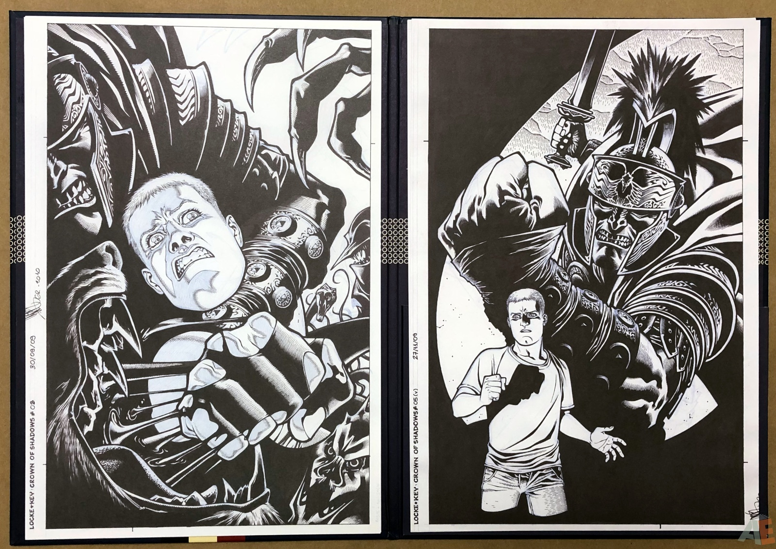 Gabriel Rodriguez' Locke & Key Artist's Edition Covers Portfolio 14