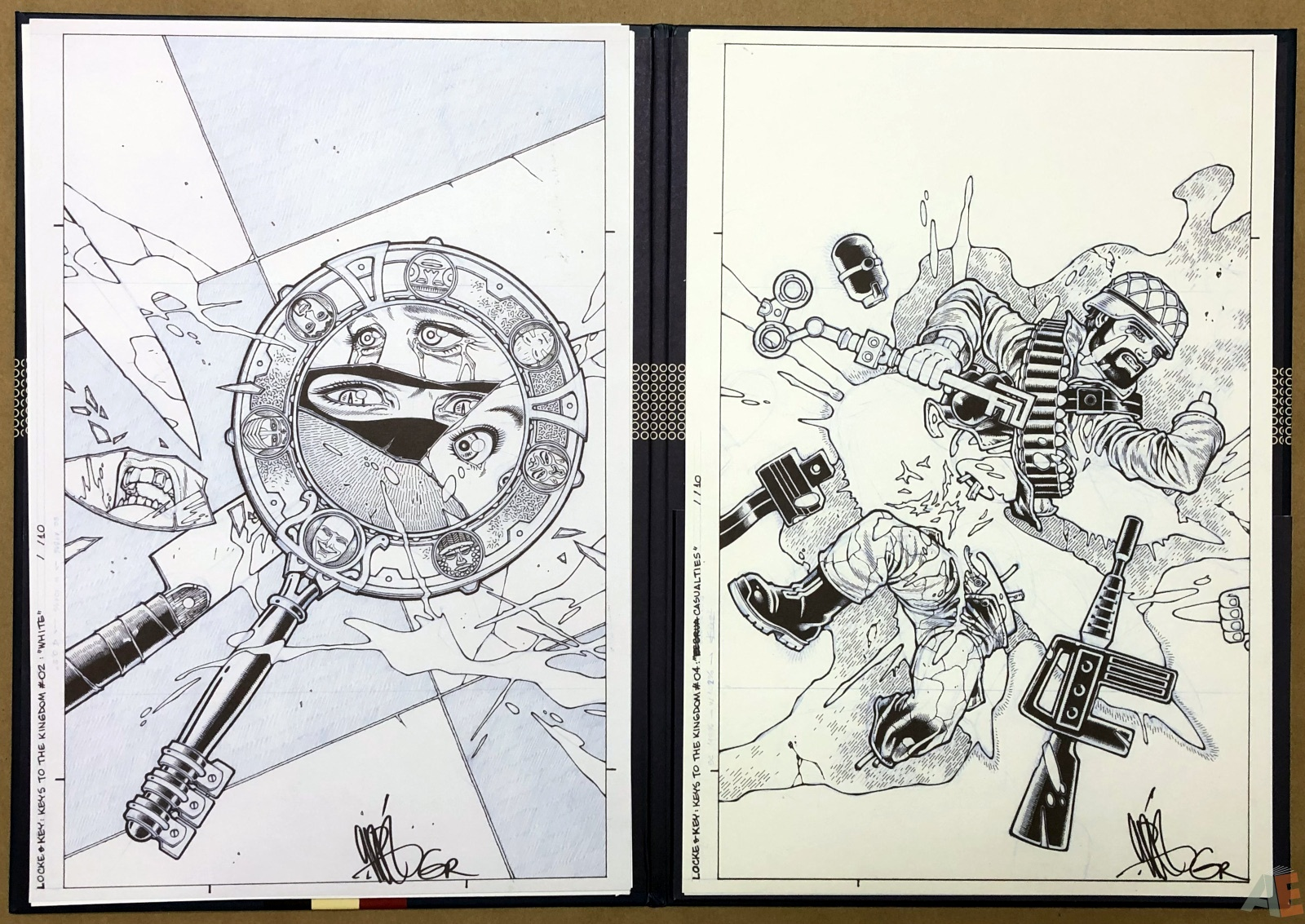 Gabriel Rodriguez' Locke & Key Artist's Edition Covers Portfolio 16