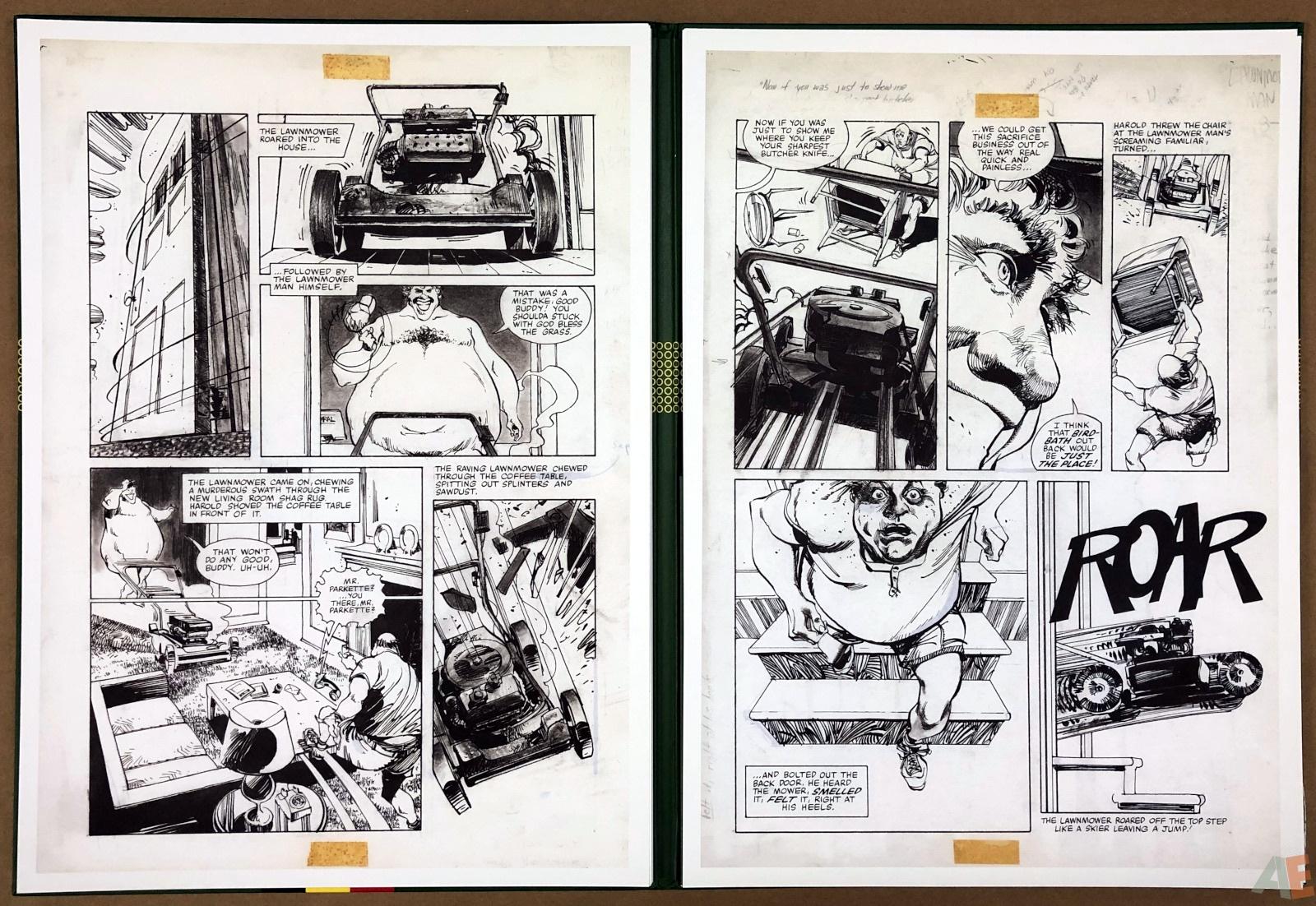 Walter Simonson's Lawnmower Man: Artist's Edition Portfolio 22