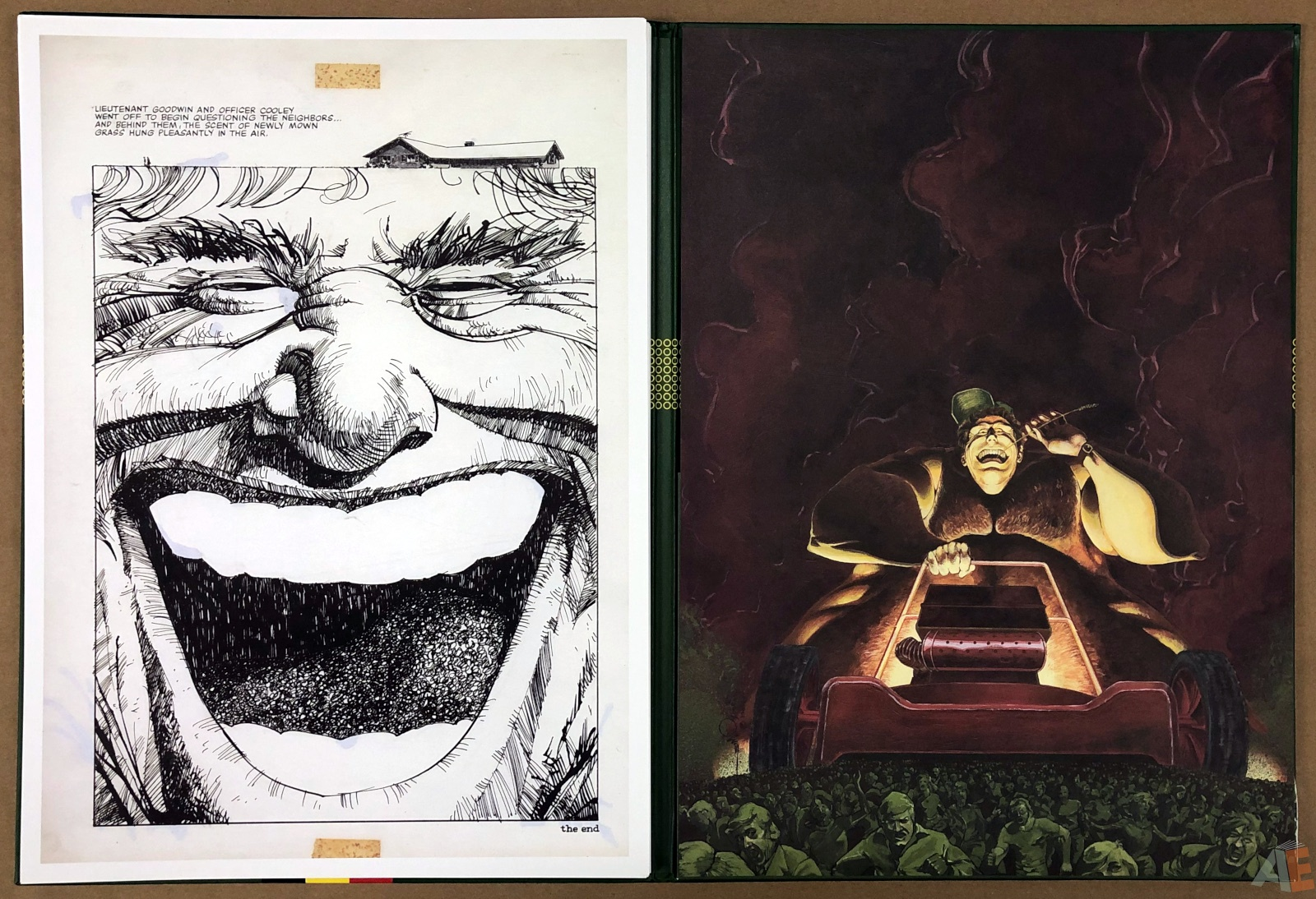Walter Simonson's Lawnmower Man: Artist's Edition Portfolio 26