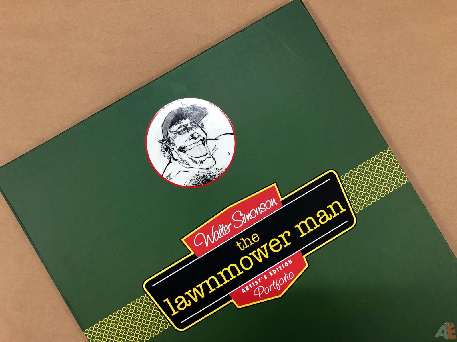Walter Simonson's Lawnmower Man: Artist's Edition Portfolio 28