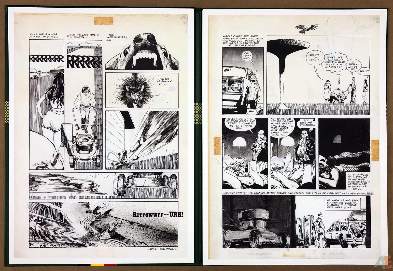 Walter Simonson's Lawnmower Man: Artist's Edition Portfolio 8