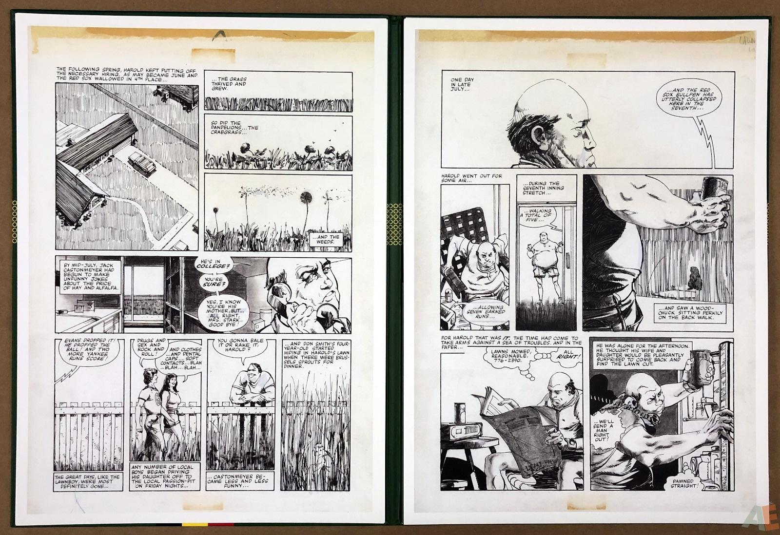 Walter Simonson's Lawnmower Man: Artist's Edition Portfolio 10