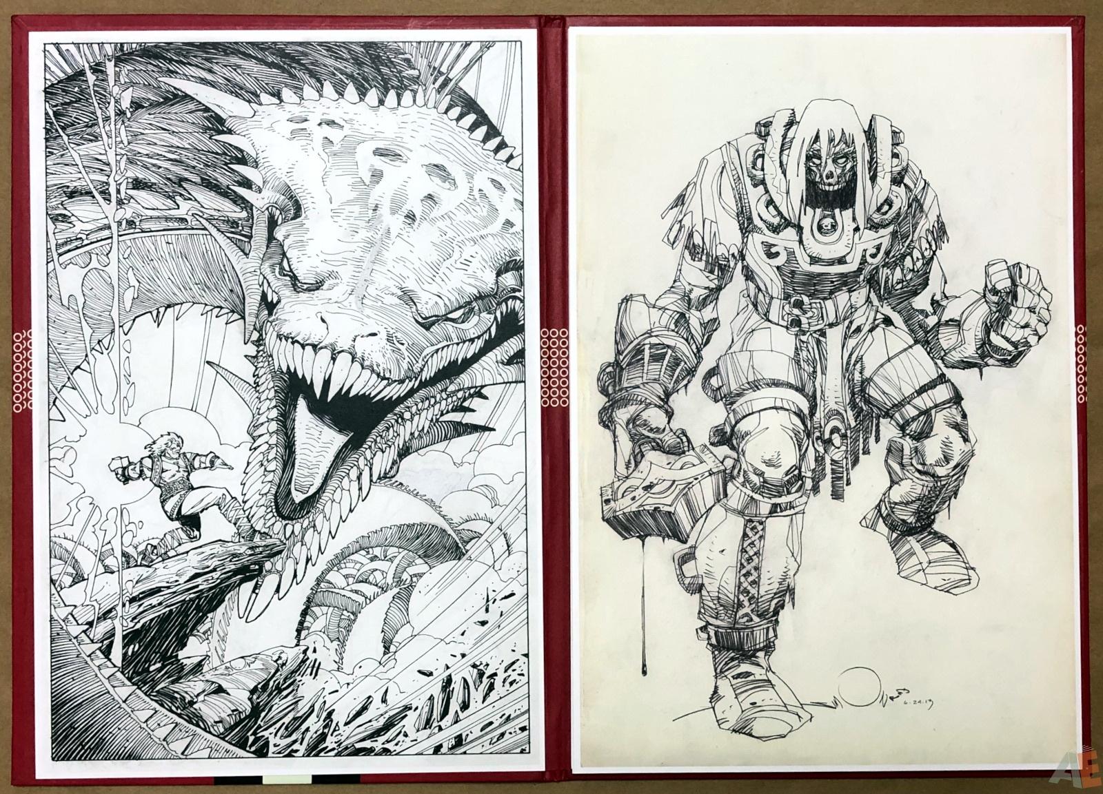 Walter Simonson's Ragnarök Artist's Edition Portfolio 6