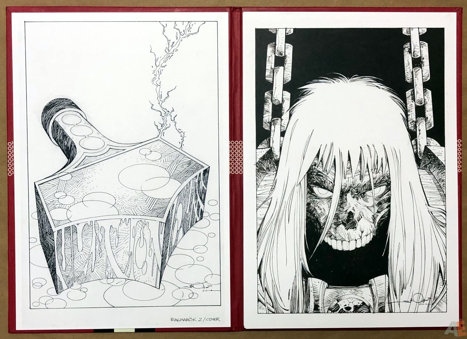 Walter Simonson's Ragnarök Artist's Edition Portfolio 8