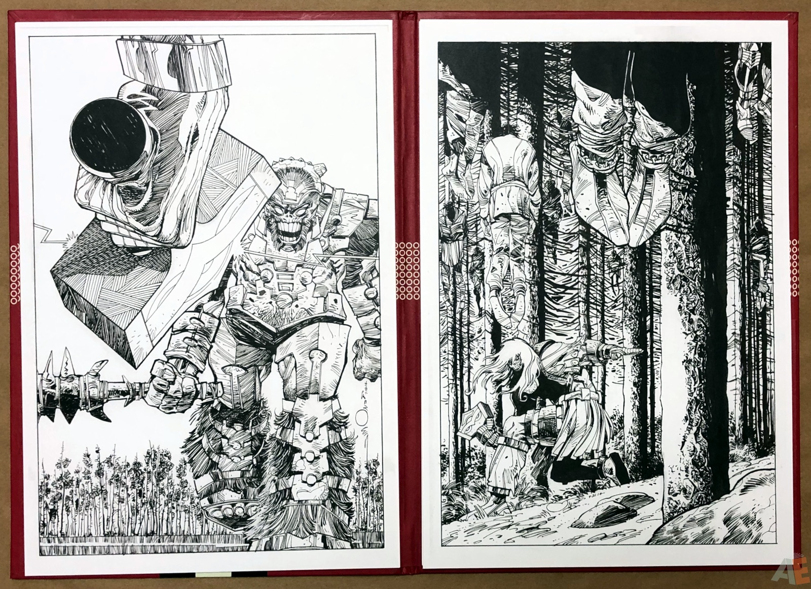 Walter Simonson's Ragnarök Artist's Edition Portfolio 10