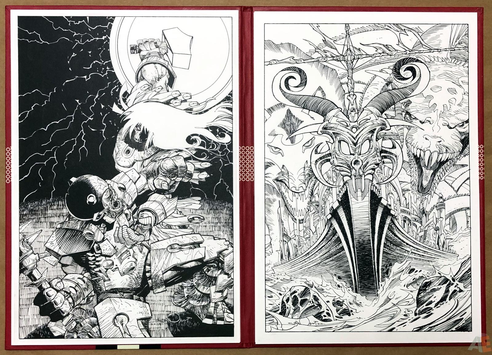 Walter Simonson's Ragnarök Artist's Edition Portfolio 12