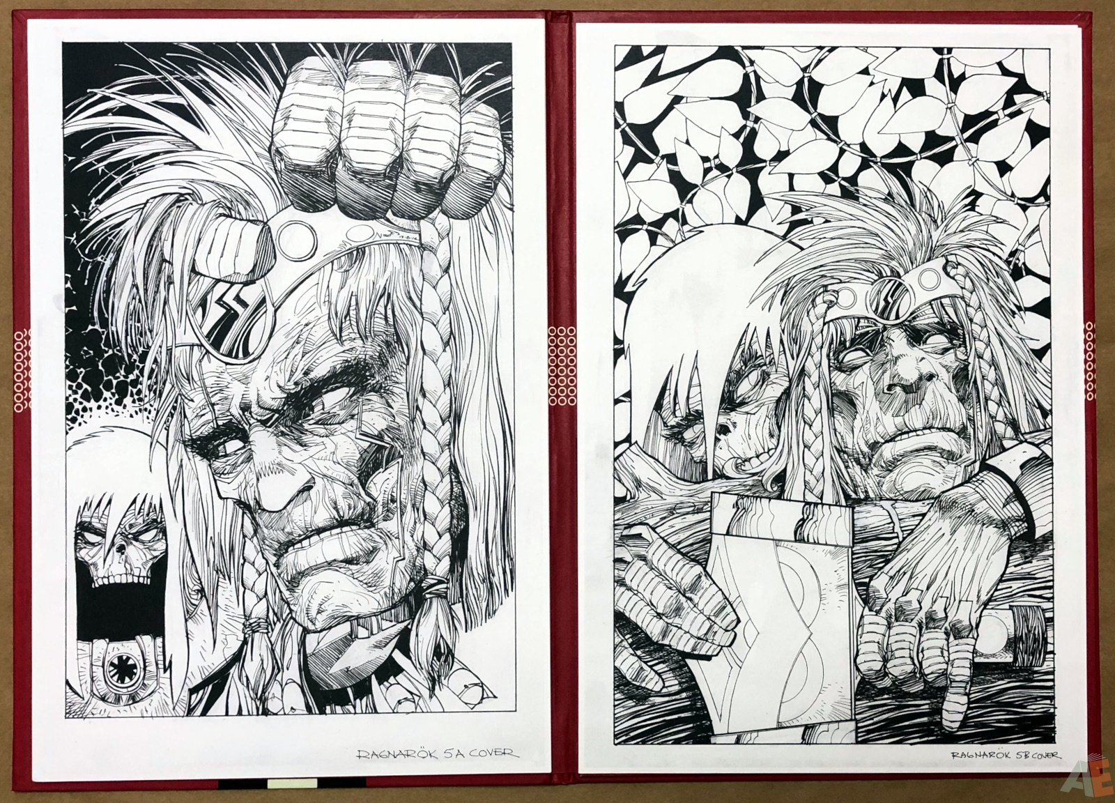 Walter Simonson's Ragnarök Artist's Edition Portfolio 14