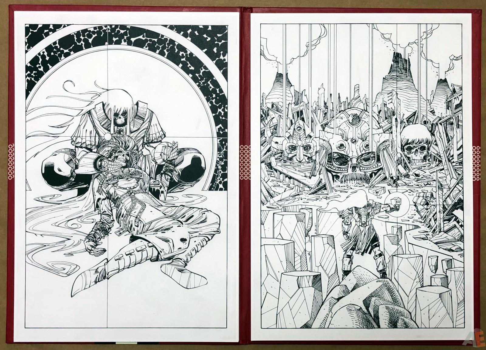 Walter Simonson's Ragnarök Artist's Edition Portfolio 16