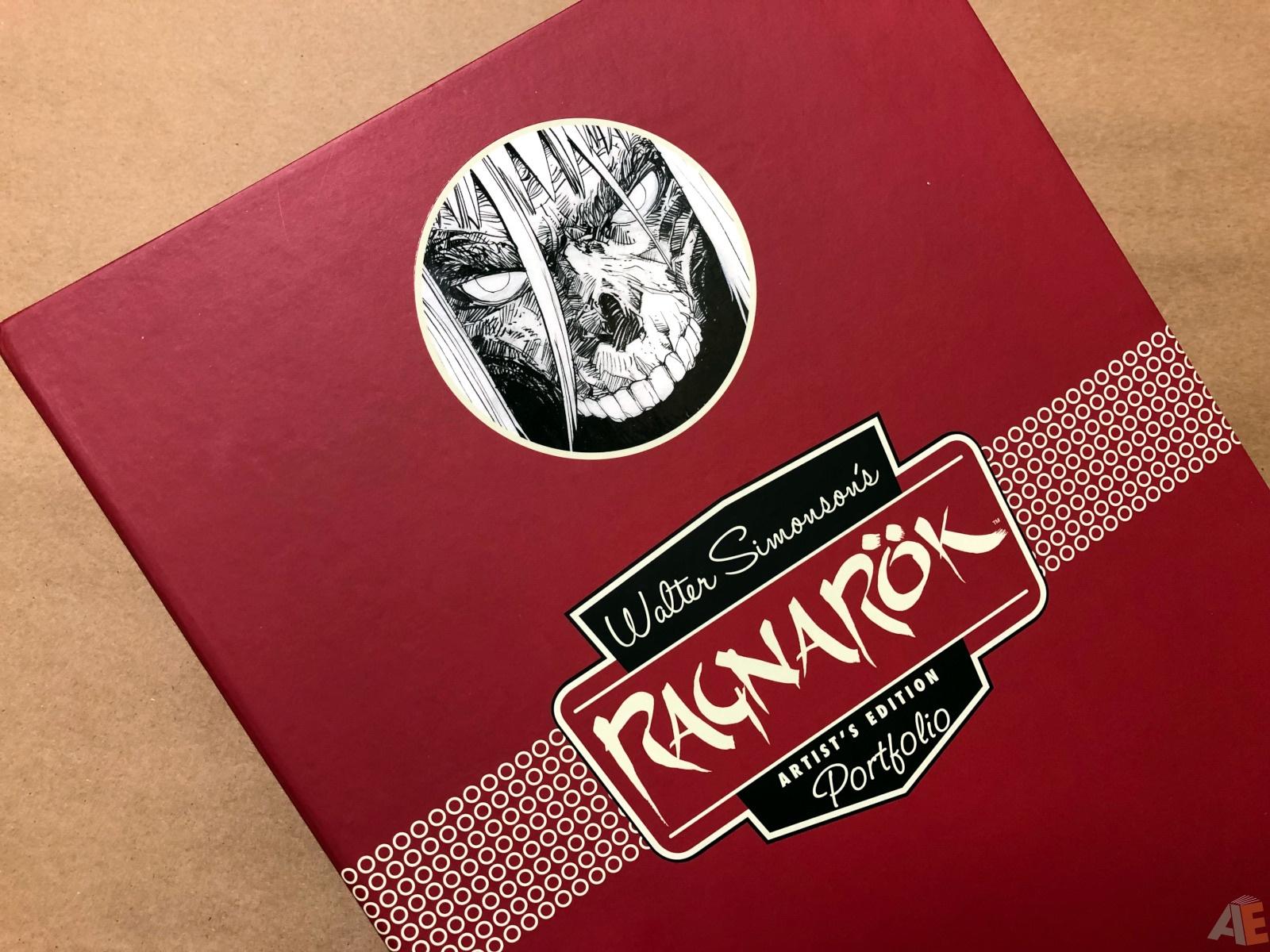 Walter Simonson's Ragnarök Artist's Edition Portfolio 18