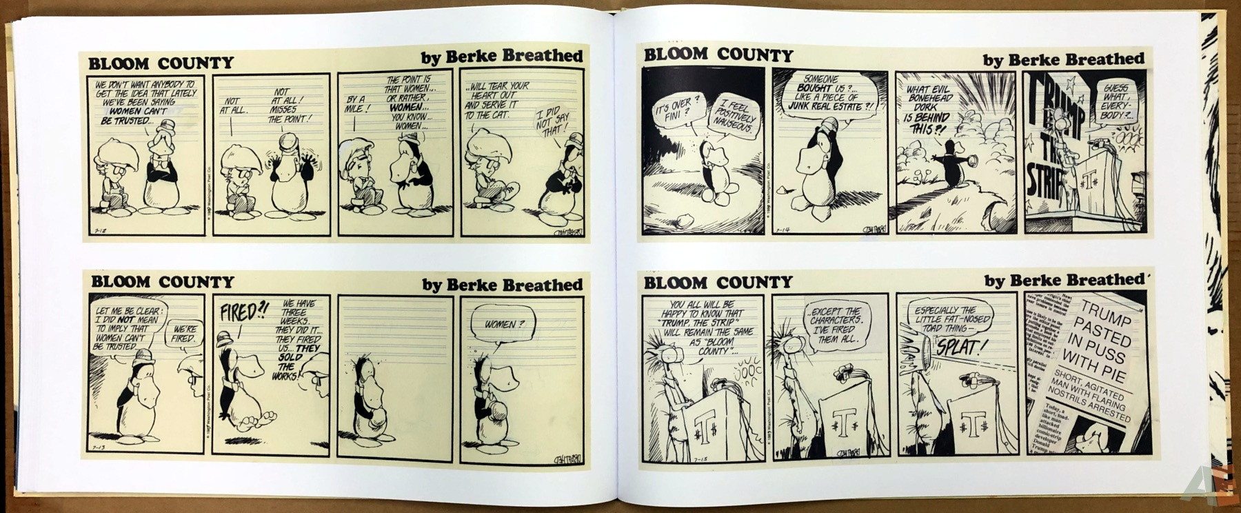Berkeley Breathed's Bloom County Artist's Edition 24