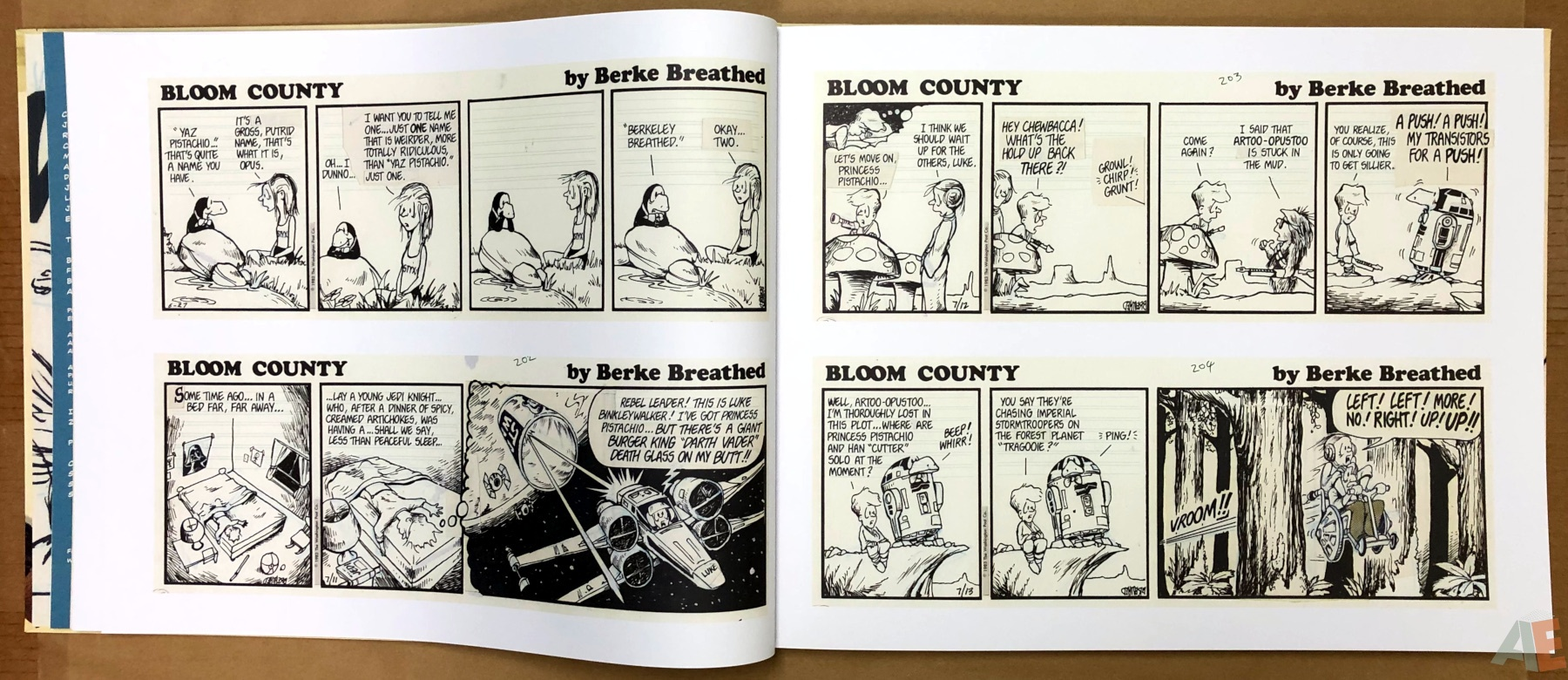 Berkeley Breathed's Bloom County Artist's Edition 10