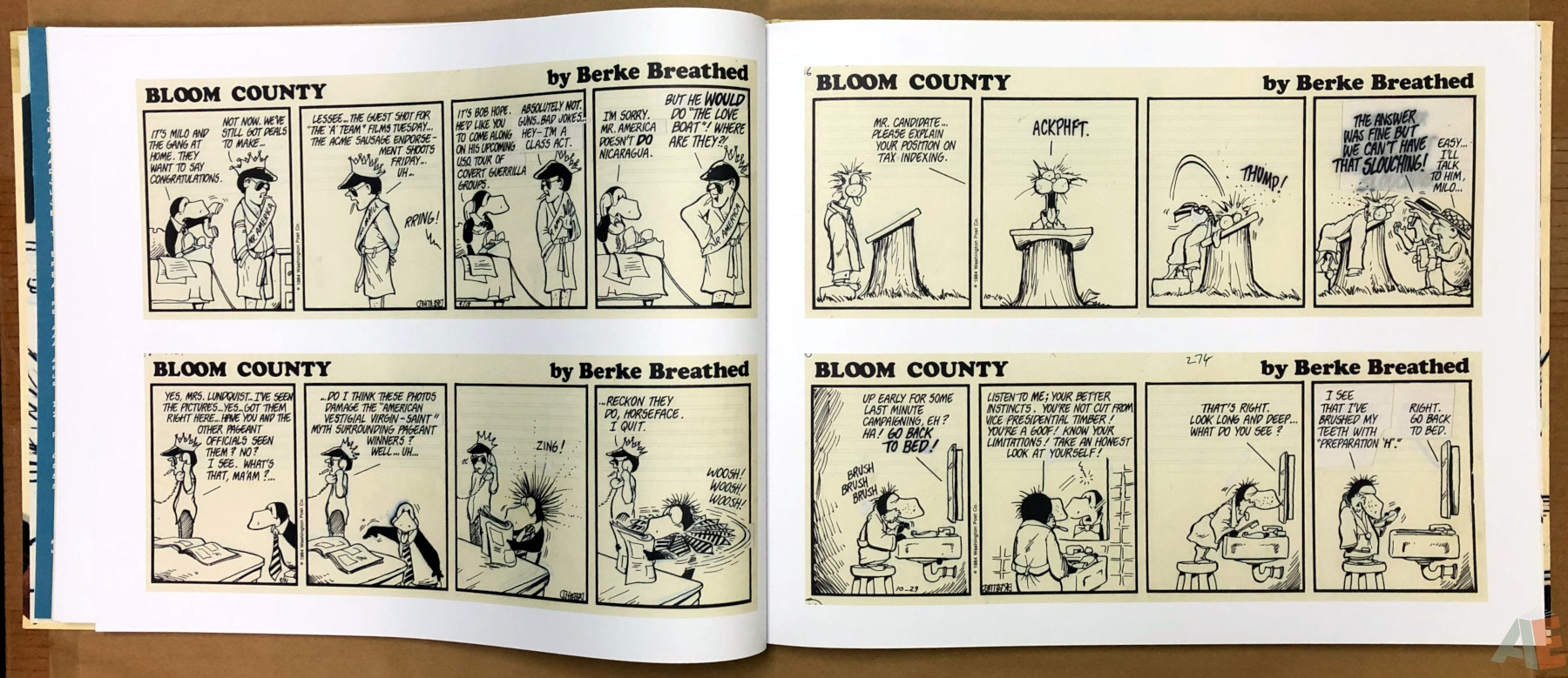 Berkeley Breathed's Bloom County Artist's Edition 14