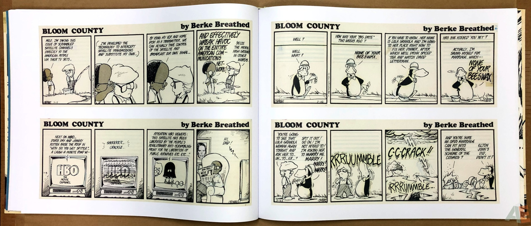 Berkeley Breathed's Bloom County Artist's Edition 18