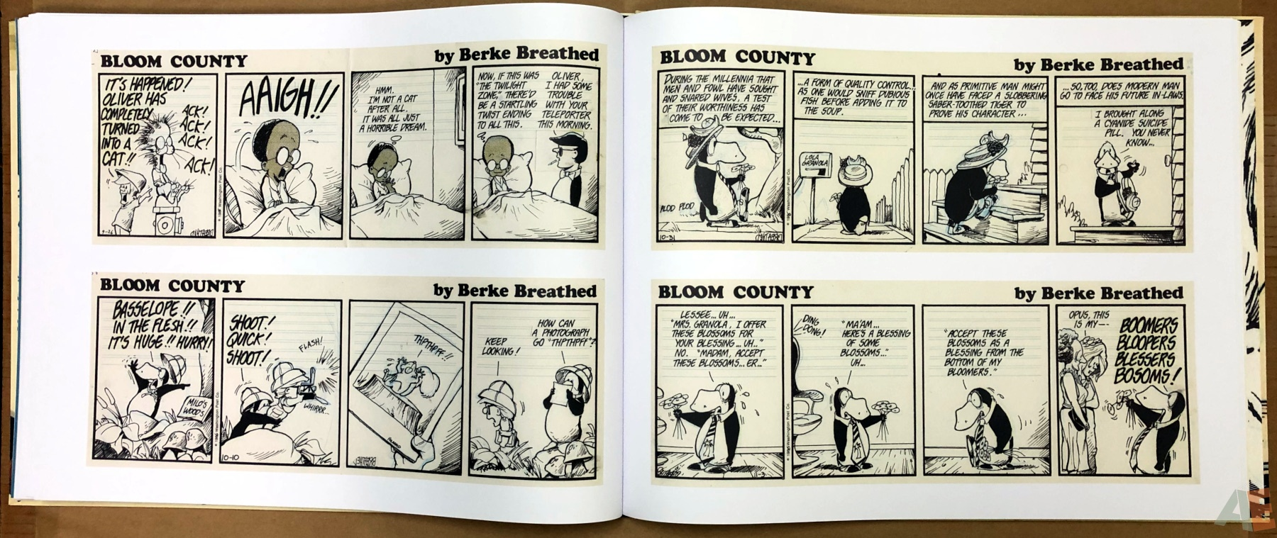 Berkeley Breathed's Bloom County Artist's Edition 20