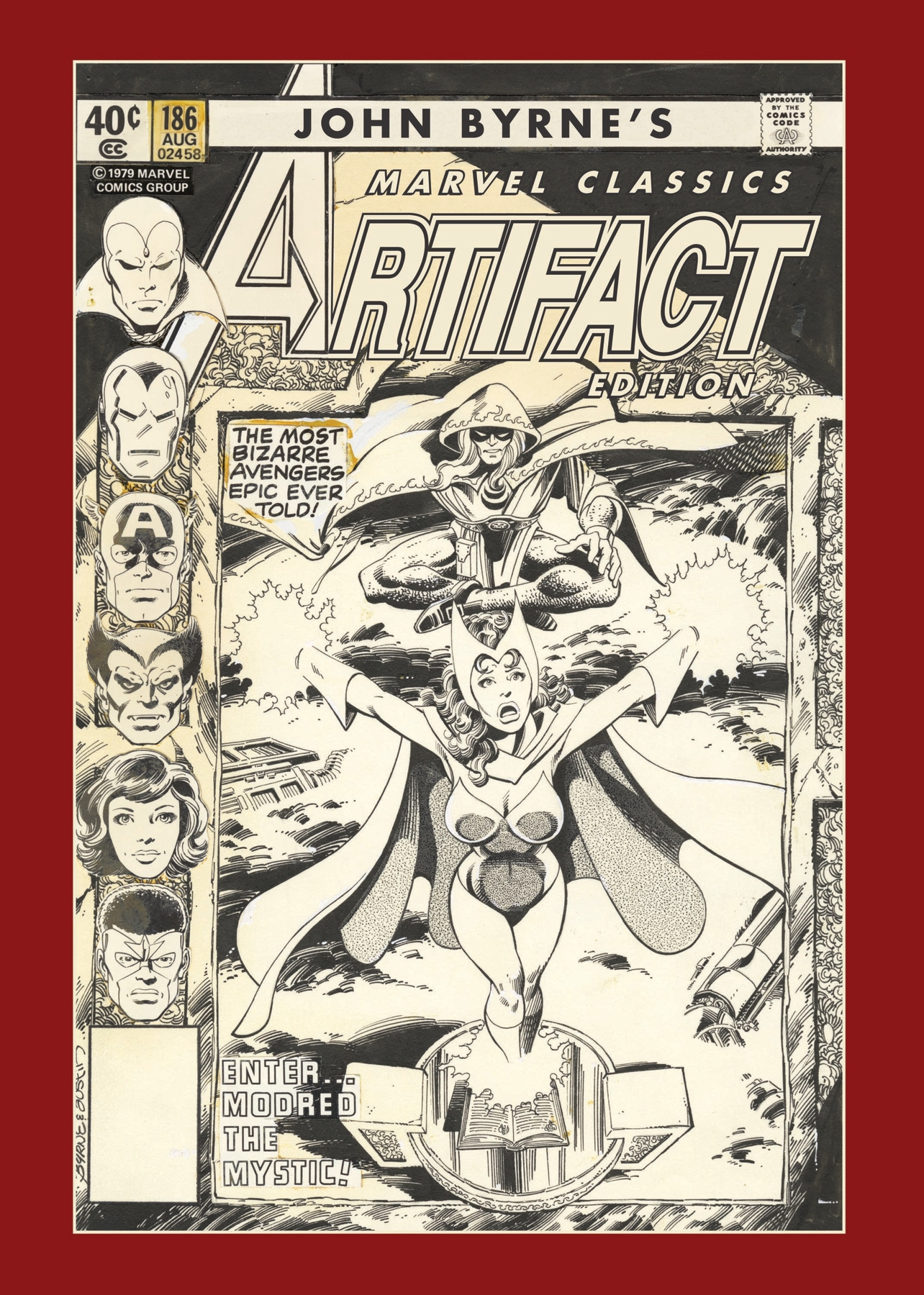 Out today: John Byrne's Marvel Classics Artifact Edition 1