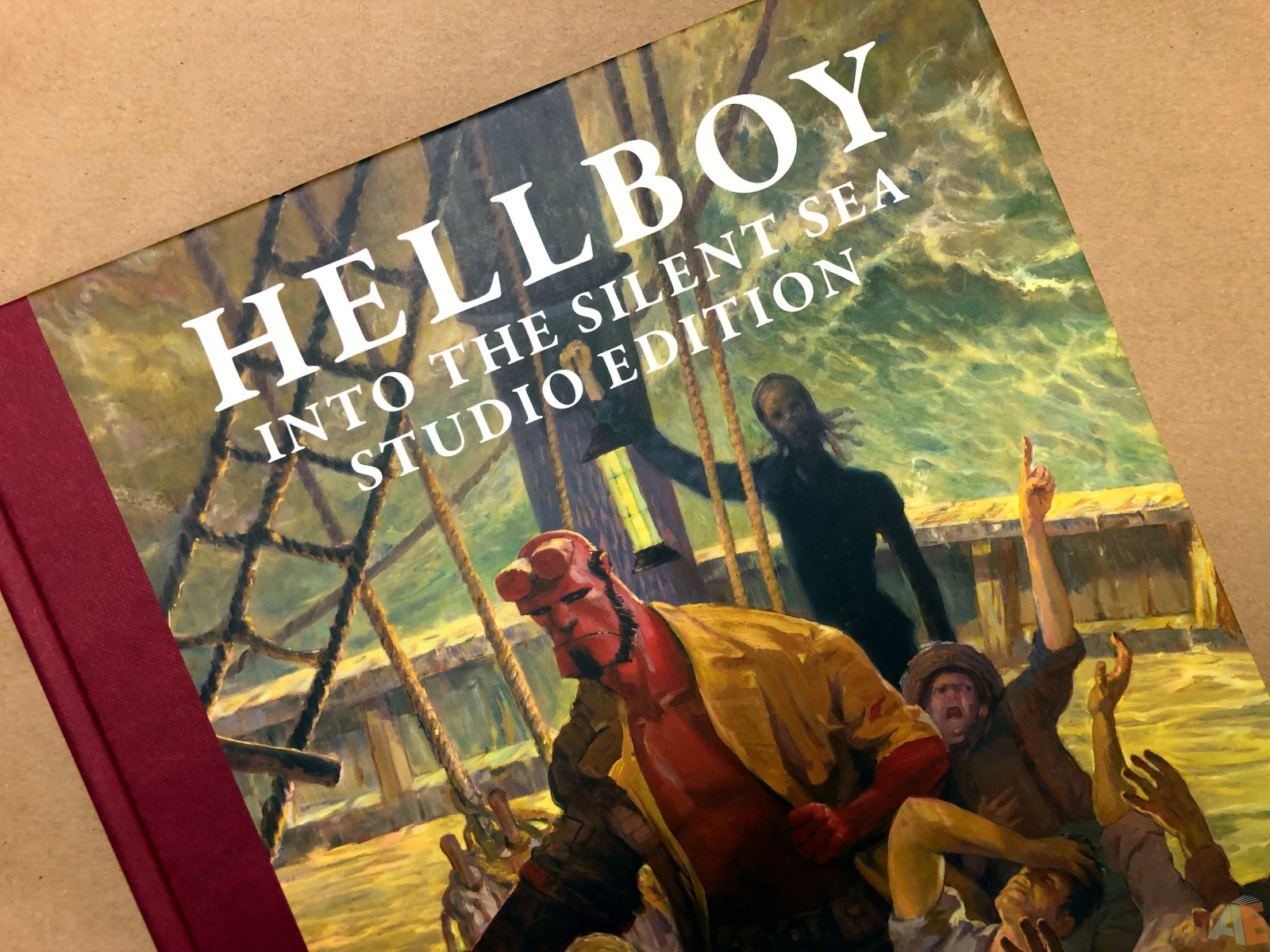 Hellboy: Into The Silent Sea Studio Edition 46