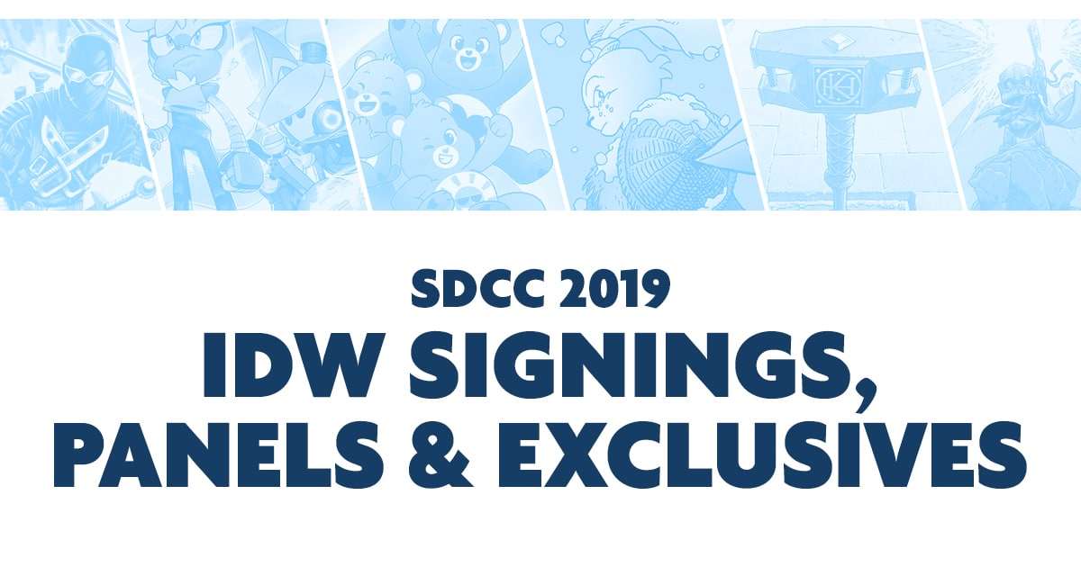 SDCC 2019 Announcements