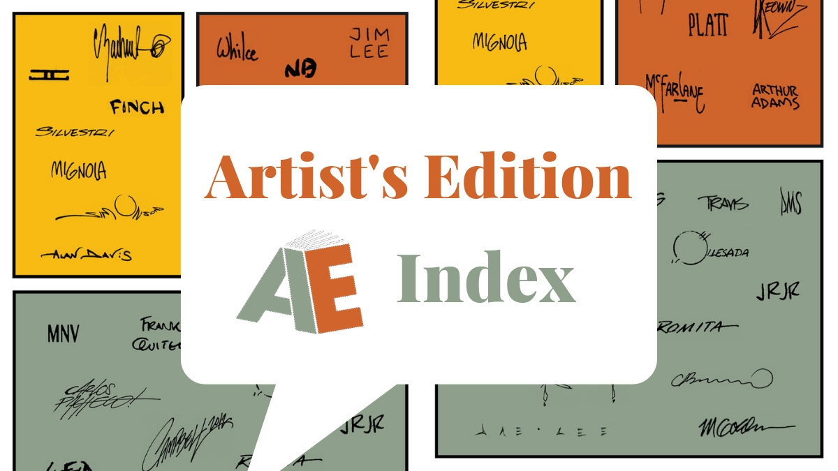 Artist's Edition | Gallery Edition | Original Art Archives
