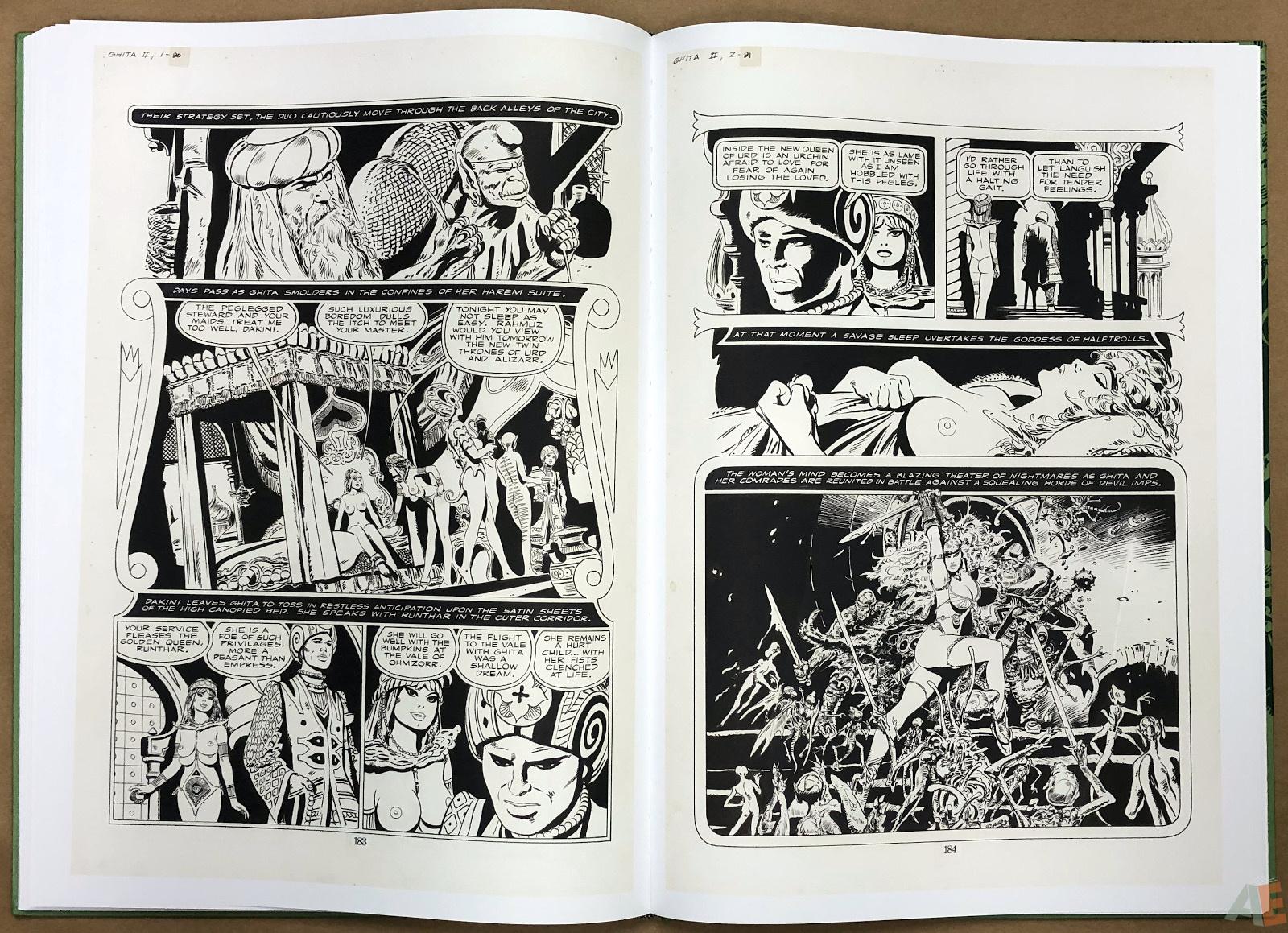 Frank Thorne's Ghita: An Erotic Treasury Volume II