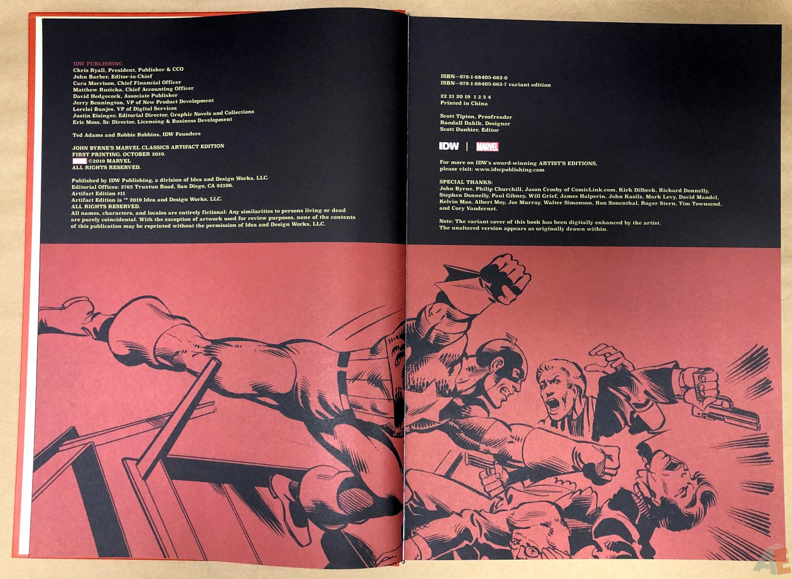 John Byrne's Marvel Classics Artifact Edition 4